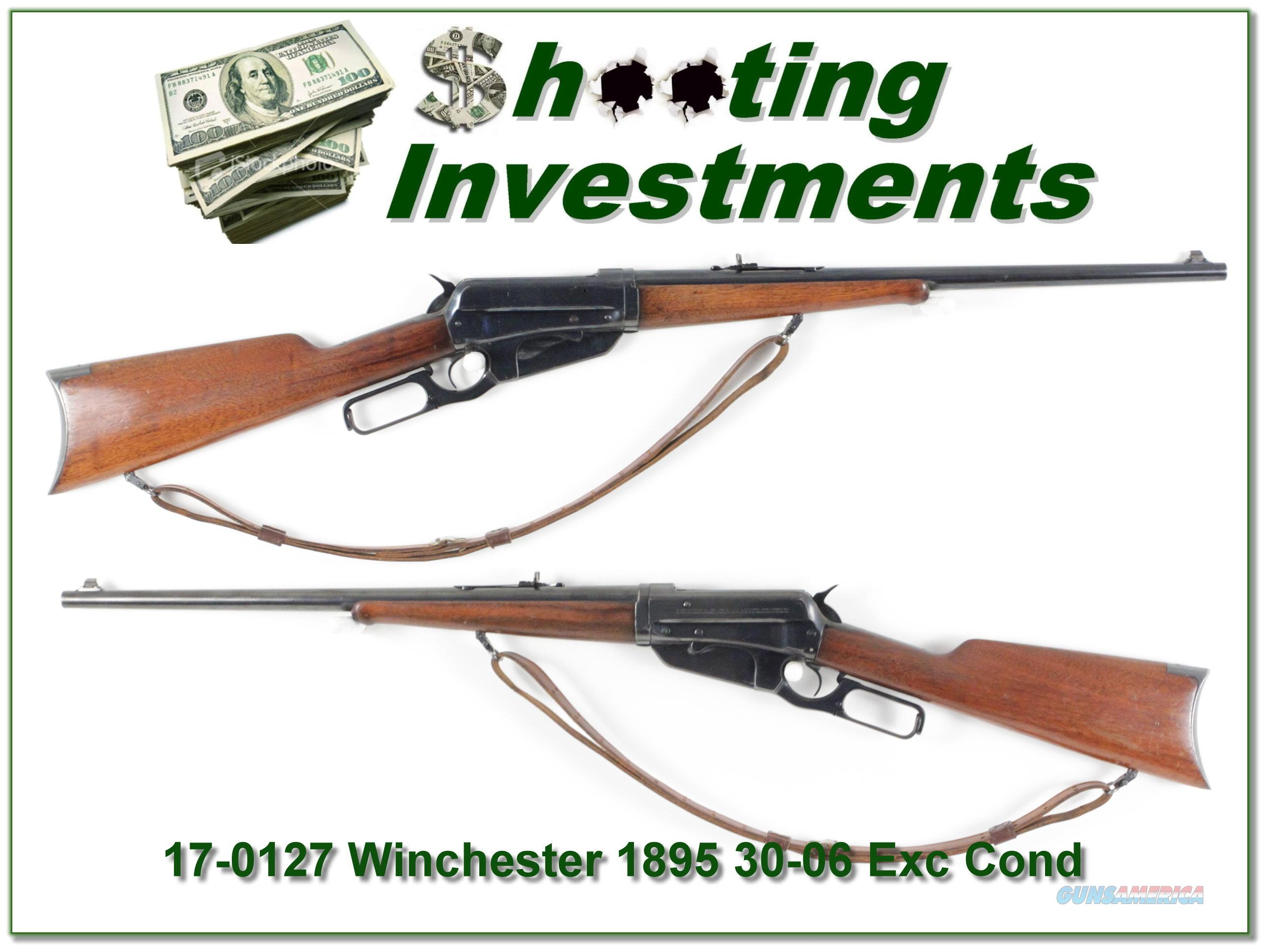 Winchester 1895 Takedown 30-06 made in 1915  Guns > Rifles > Winchester Rifles - Modern Lever > Other Lever > Pre-64