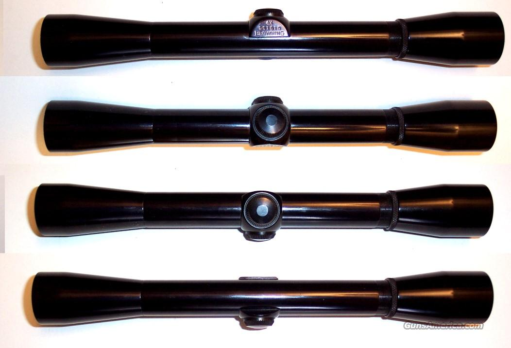 "Vintage Browning ¾"" 4 rimfire rifle scope  Non-Guns > Scopes/Mounts/Rings & Optics > Rifle Scopes > Fixed Focal Length"