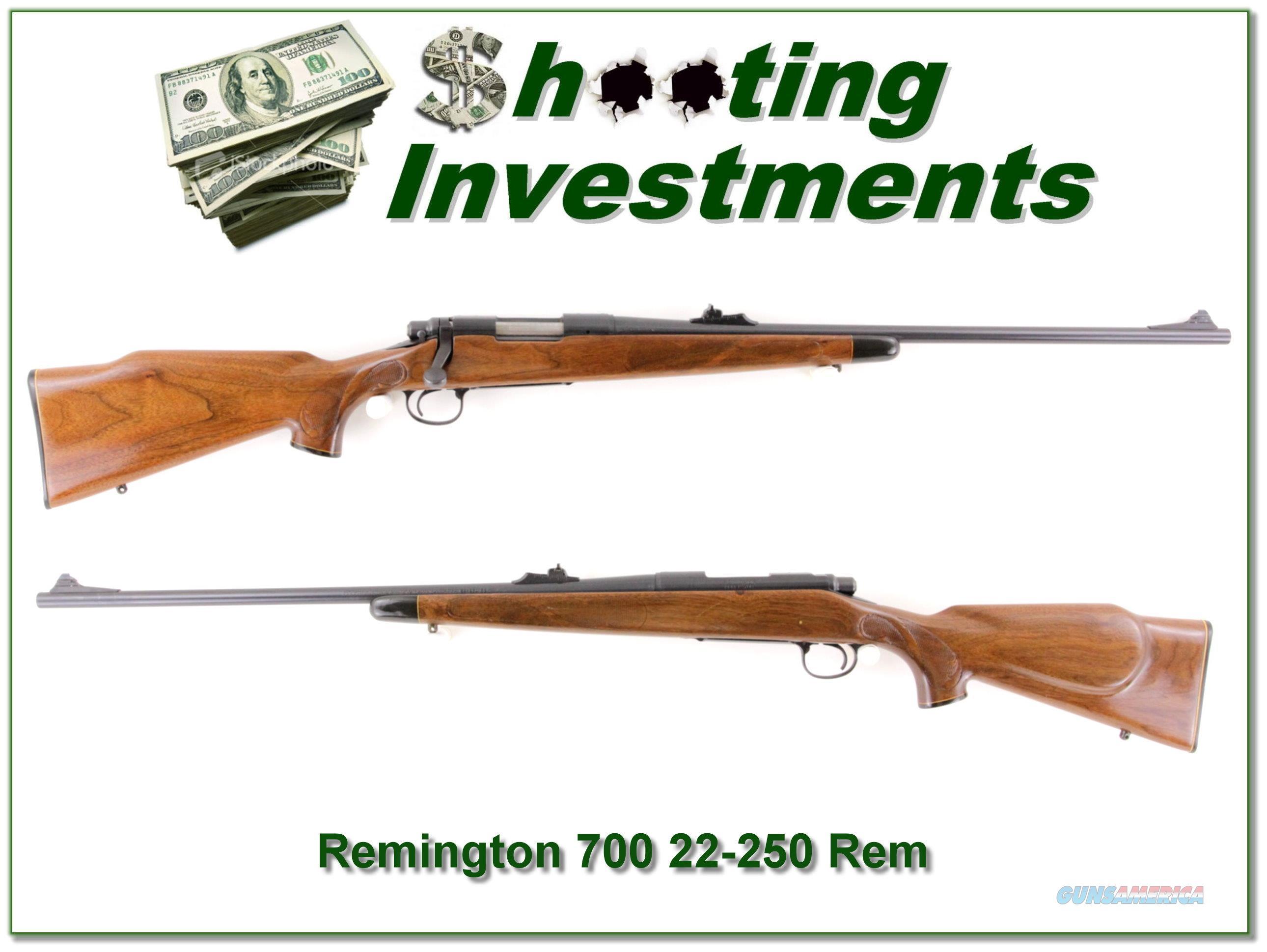 Remington 700 in 22-250 Remington  Guns > Rifles > Remington Rifles - Modern > Model 700 > Sporting