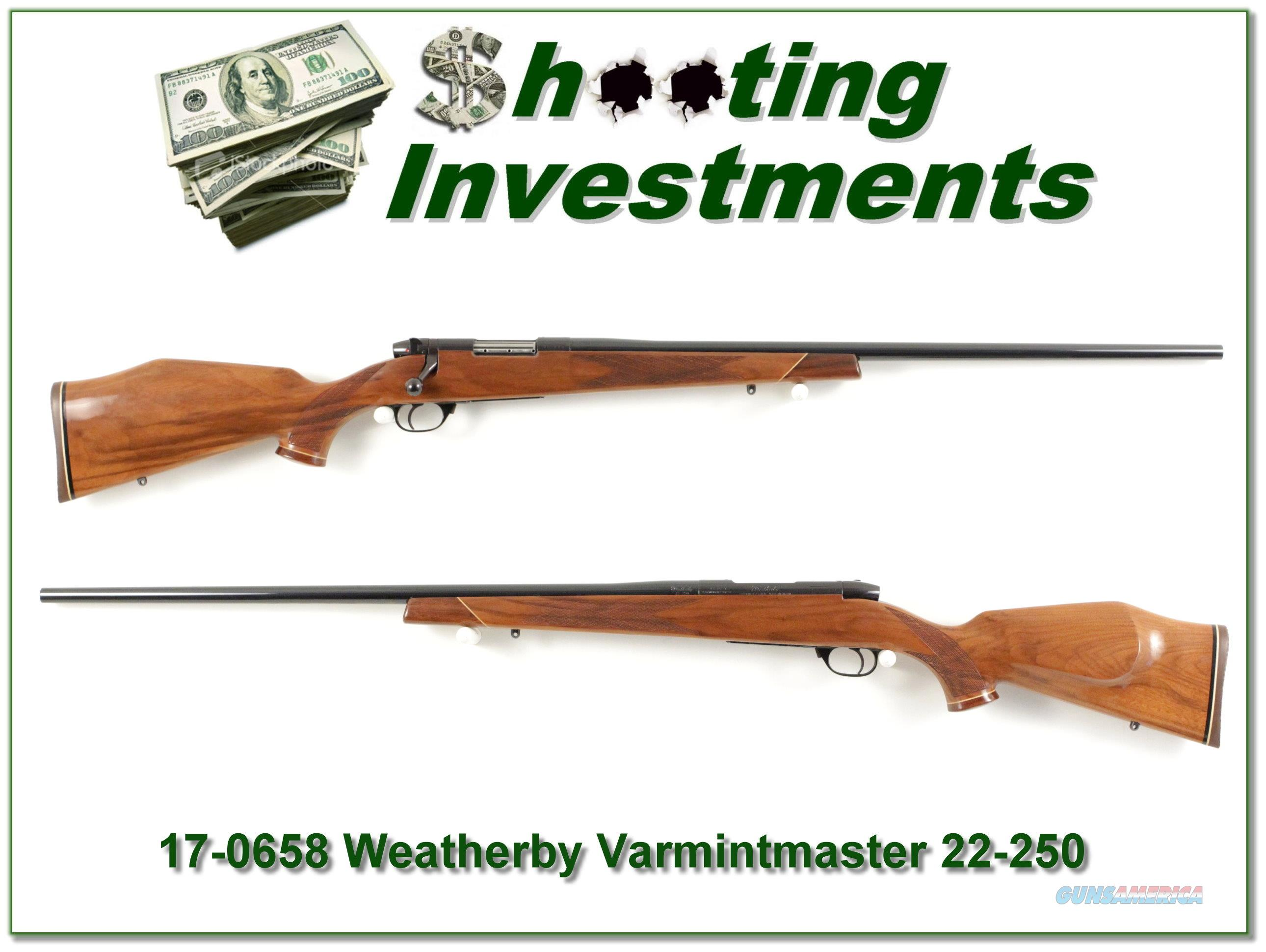 Weathebry Mark V Varmintmaster 22-250 26in  Guns > Rifles > Weatherby Rifles > Sporting