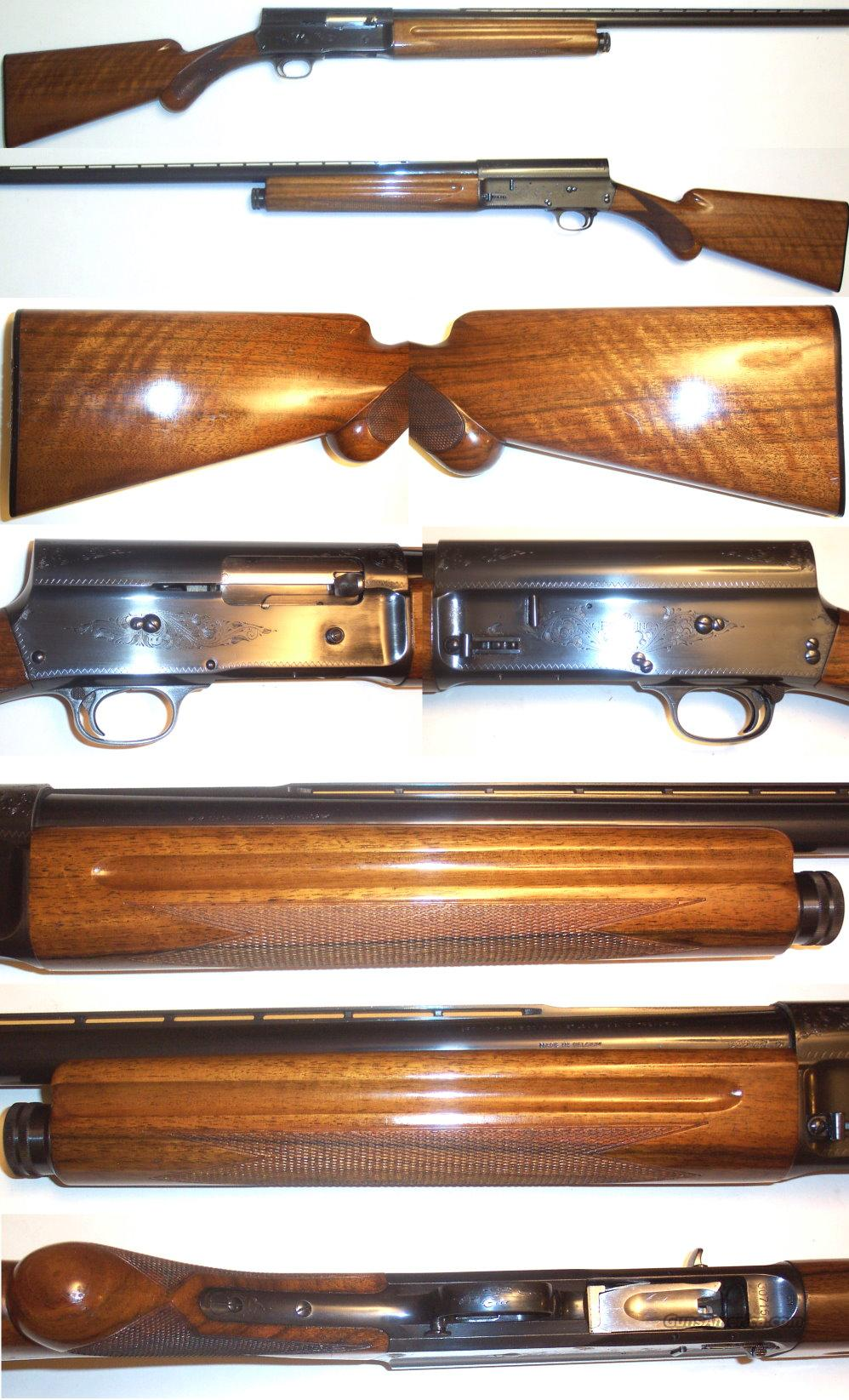 "'66 Belgium Browning A5 28"" Mod Vent Rib Left Hand Safety  Guns > Shotguns > Browning Shotguns > Autoloaders > Hunting"