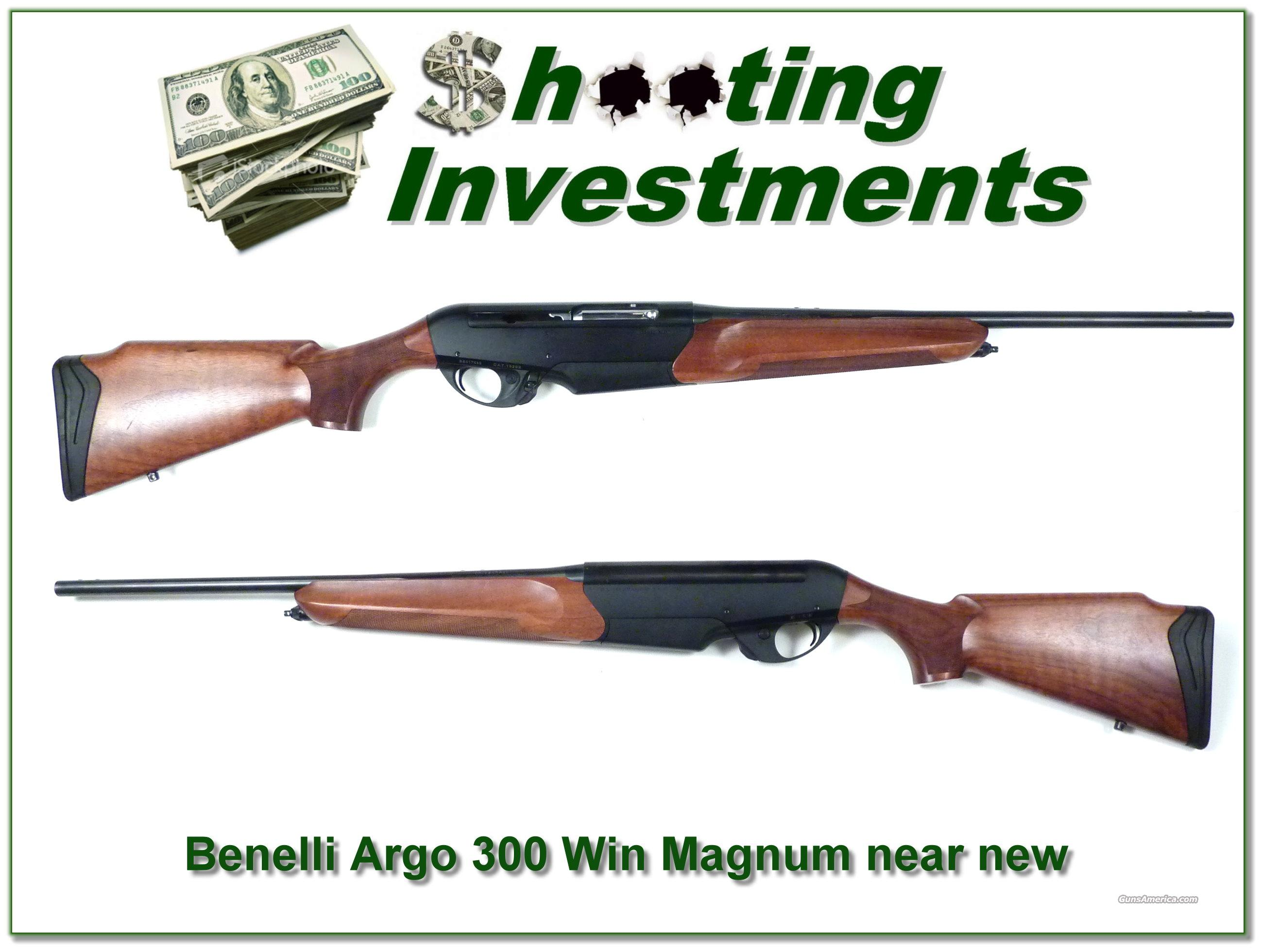 Benelli Argo 300 Win Magnum near new  Guns > Rifles > Benelli Rifles