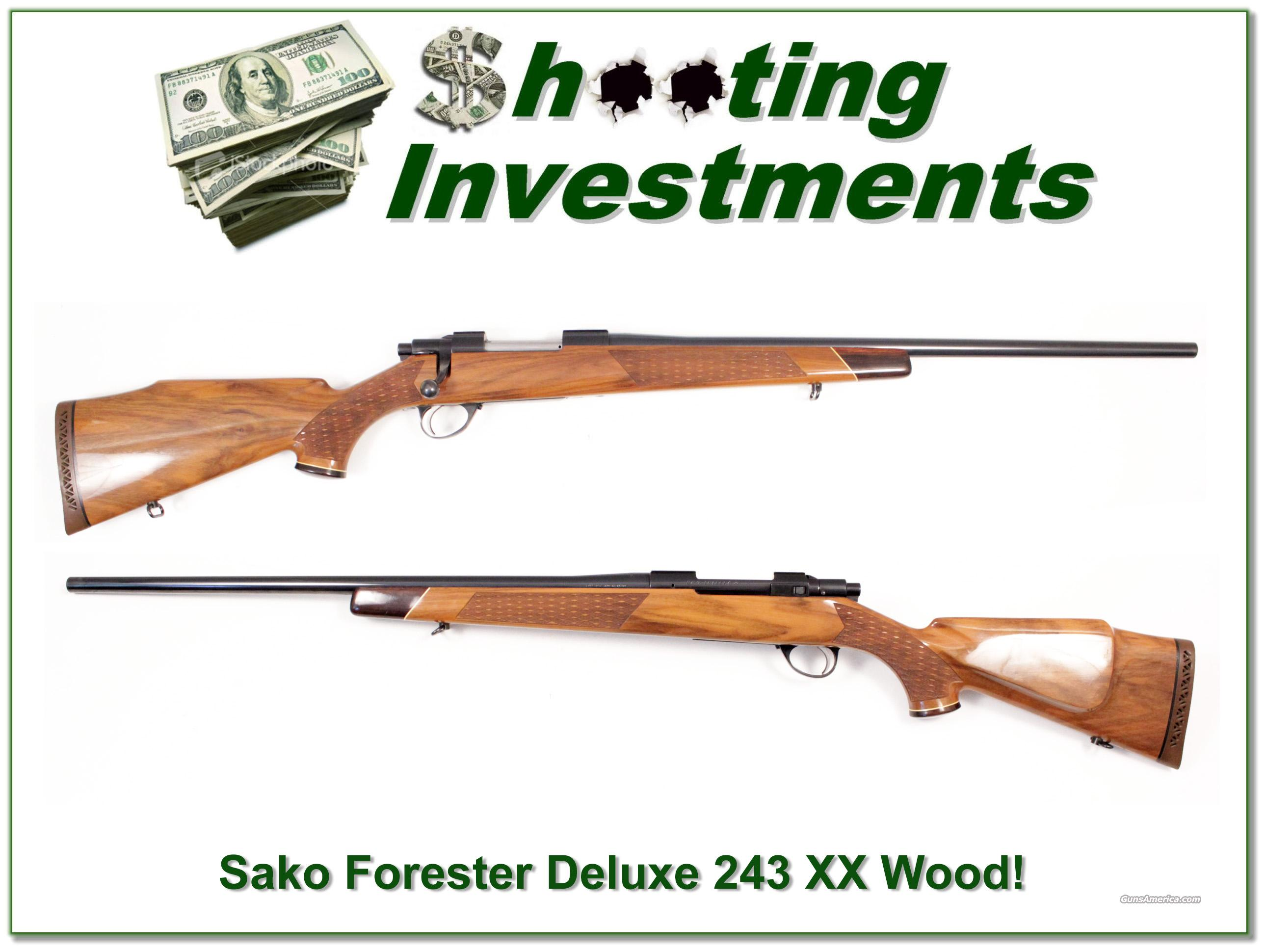 Sako Forester Deluxe 243 XX Wood!  Guns > Rifles > Sako Rifles > Other Bolt Action