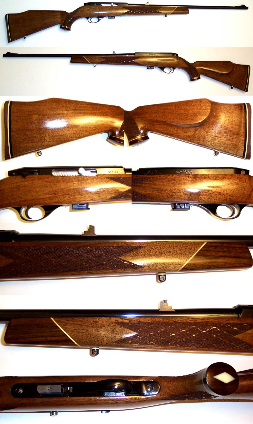 Weatherby XXII 22 rimfire EXC condition  Guns > Rifles > Weatherby Rifles > Sporting