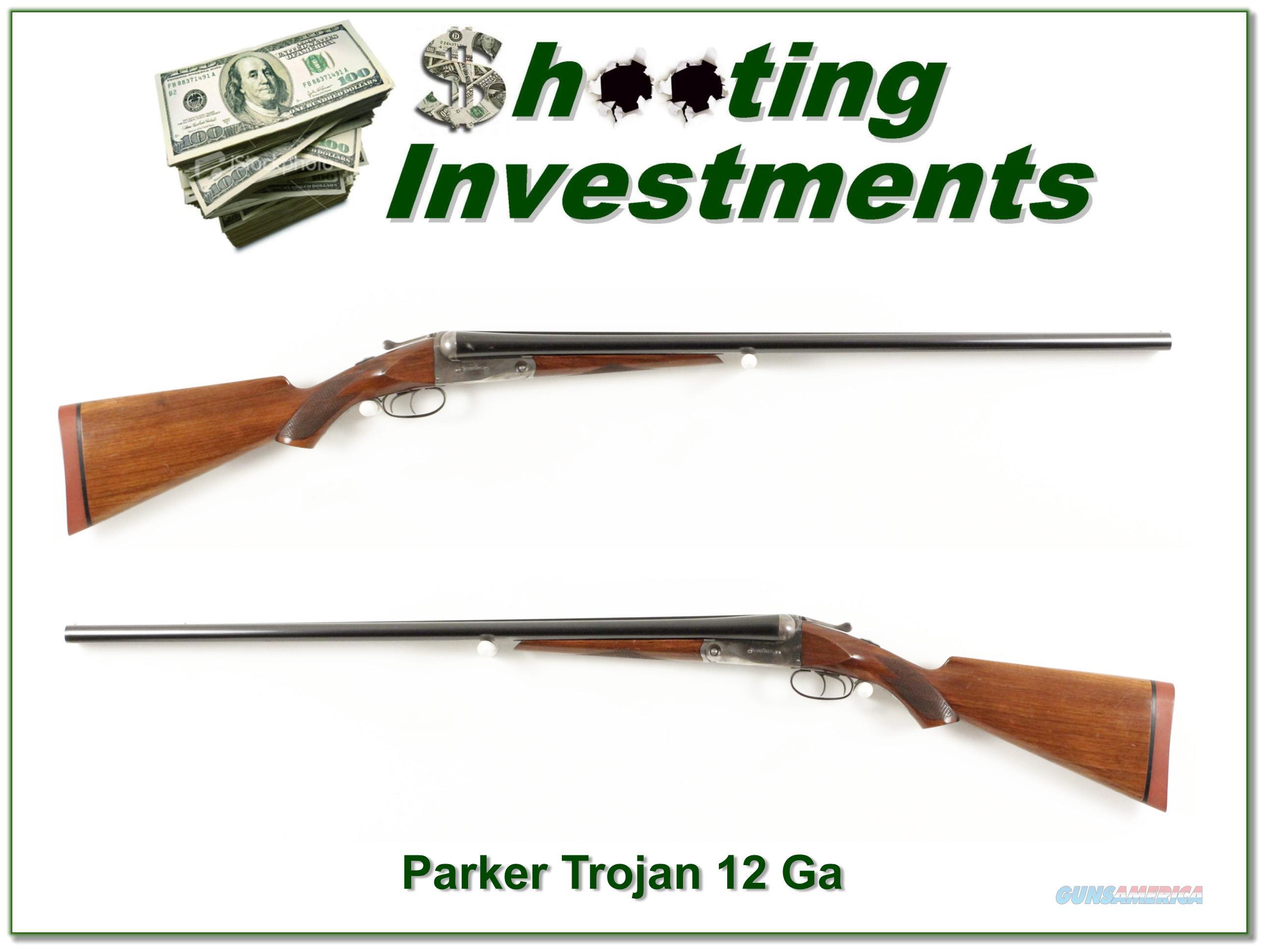 Parker Trojan 12 Ga 30in barrels made in 1920!  Guns > Shotguns > Parker Shotguns