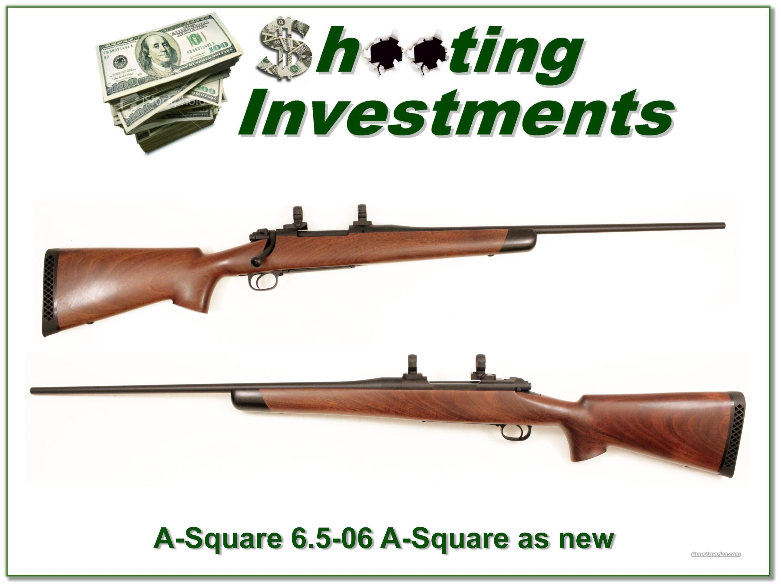 A-Square Hamilcar rifle in 6.5-06 A-Square as new  Guns > Rifles > A Misc Rifles