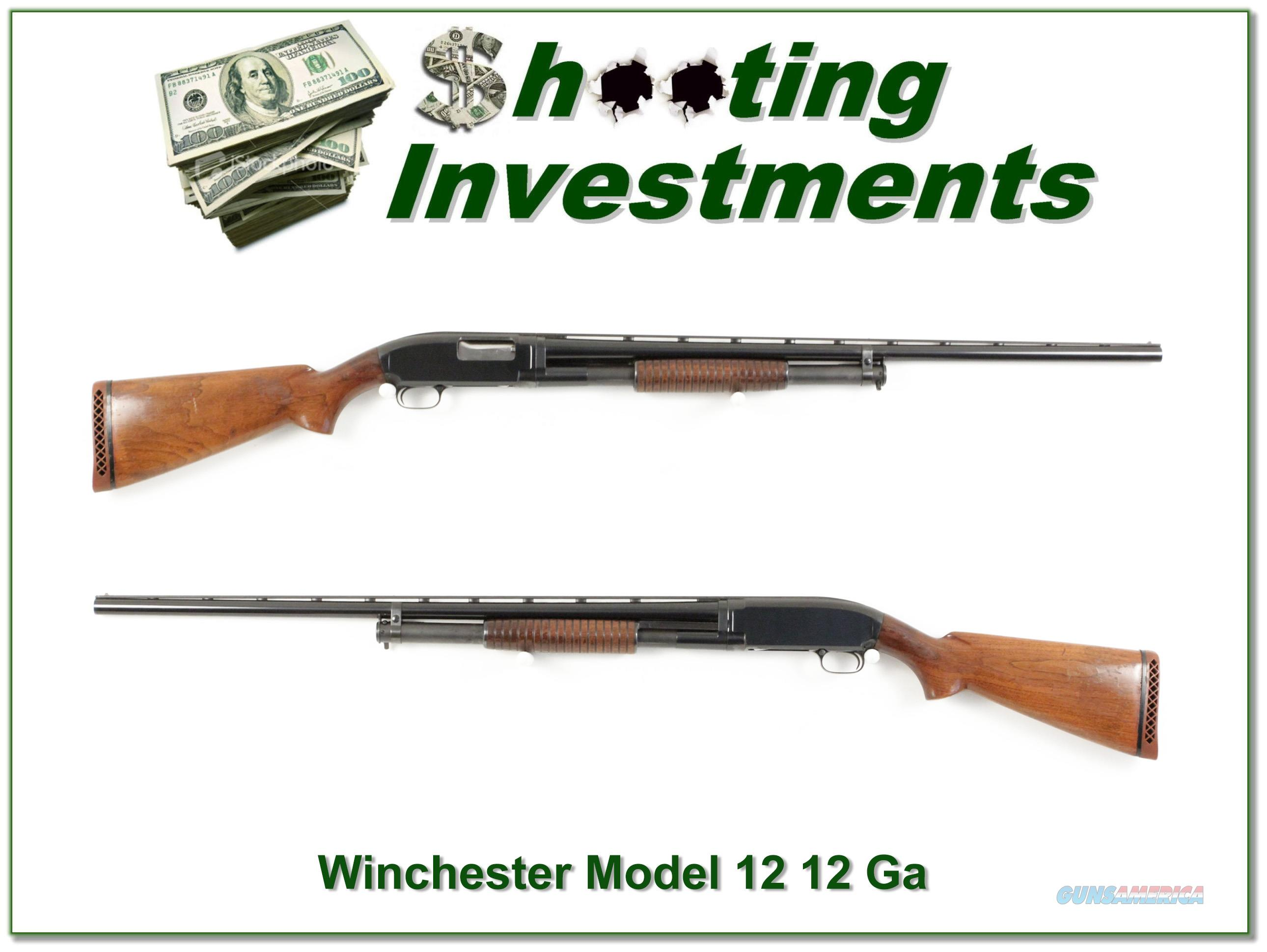 Winchester Model 12 12 Ga Vent Rib made in 1948 Exc Con  Guns > Shotguns > Winchester Shotguns - Modern > Pump Action > Hunting
