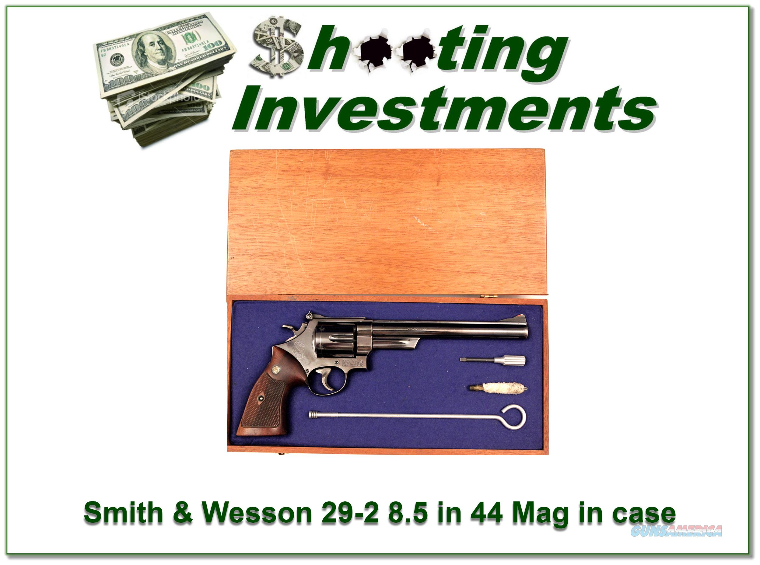 Smith & Wesson 29-2 44 Magnum 8 3/8 in case  Guns > Pistols > Smith & Wesson Revolvers > Full Frame Revolver