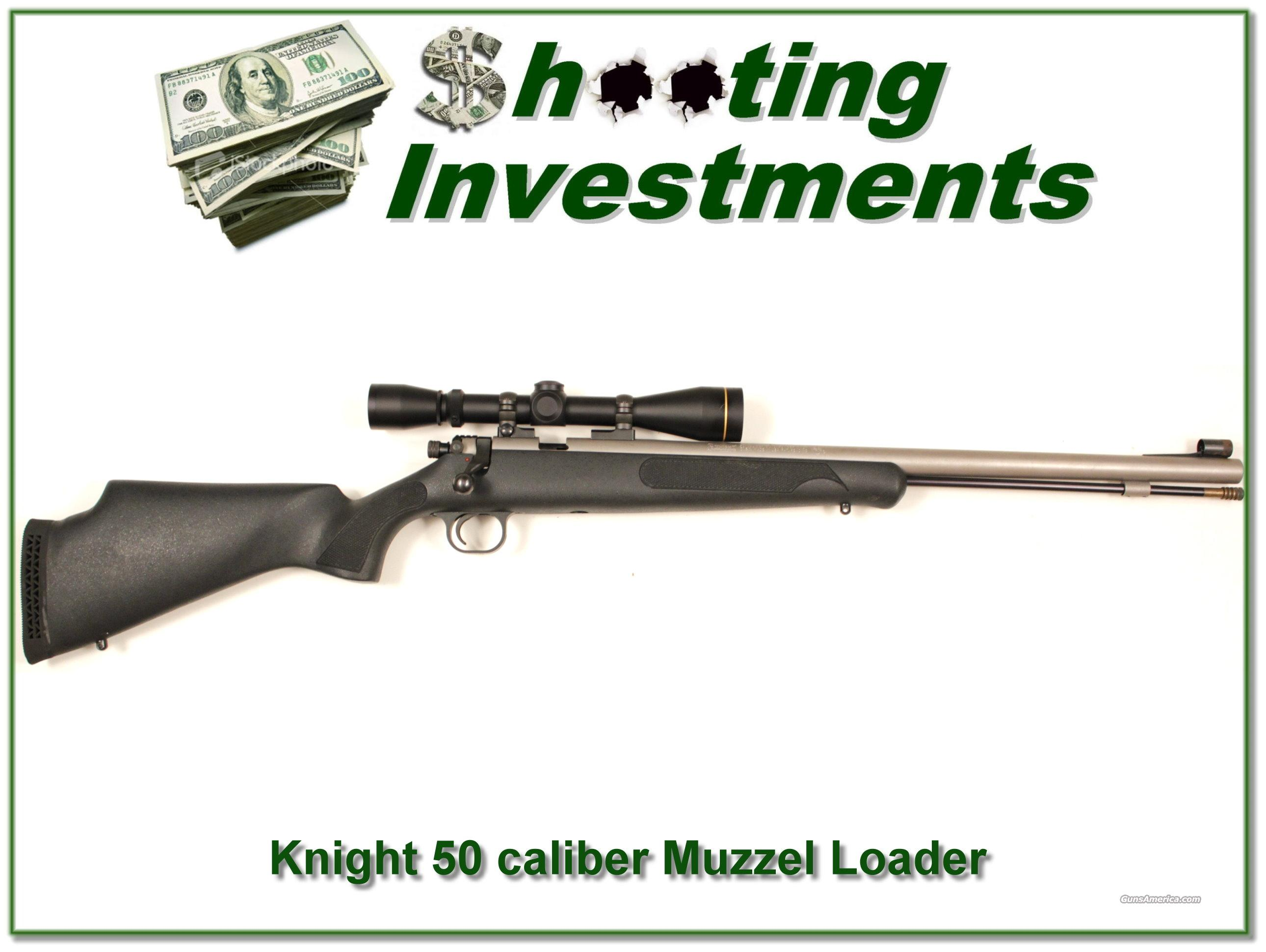 Knight 50 caliber Muzzel Loader  Guns > Rifles > Knight Rifles