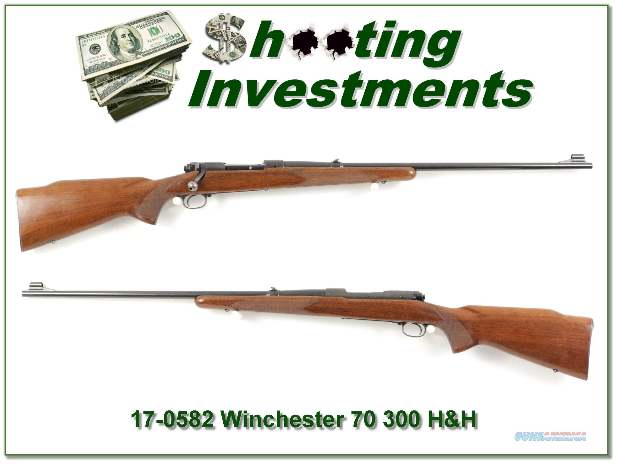 Winchester 70 pre-64 300 H&H 1953!  Guns > Rifles > Winchester Rifles - Modern Bolt/Auto/Single > Model 70 > Post-64