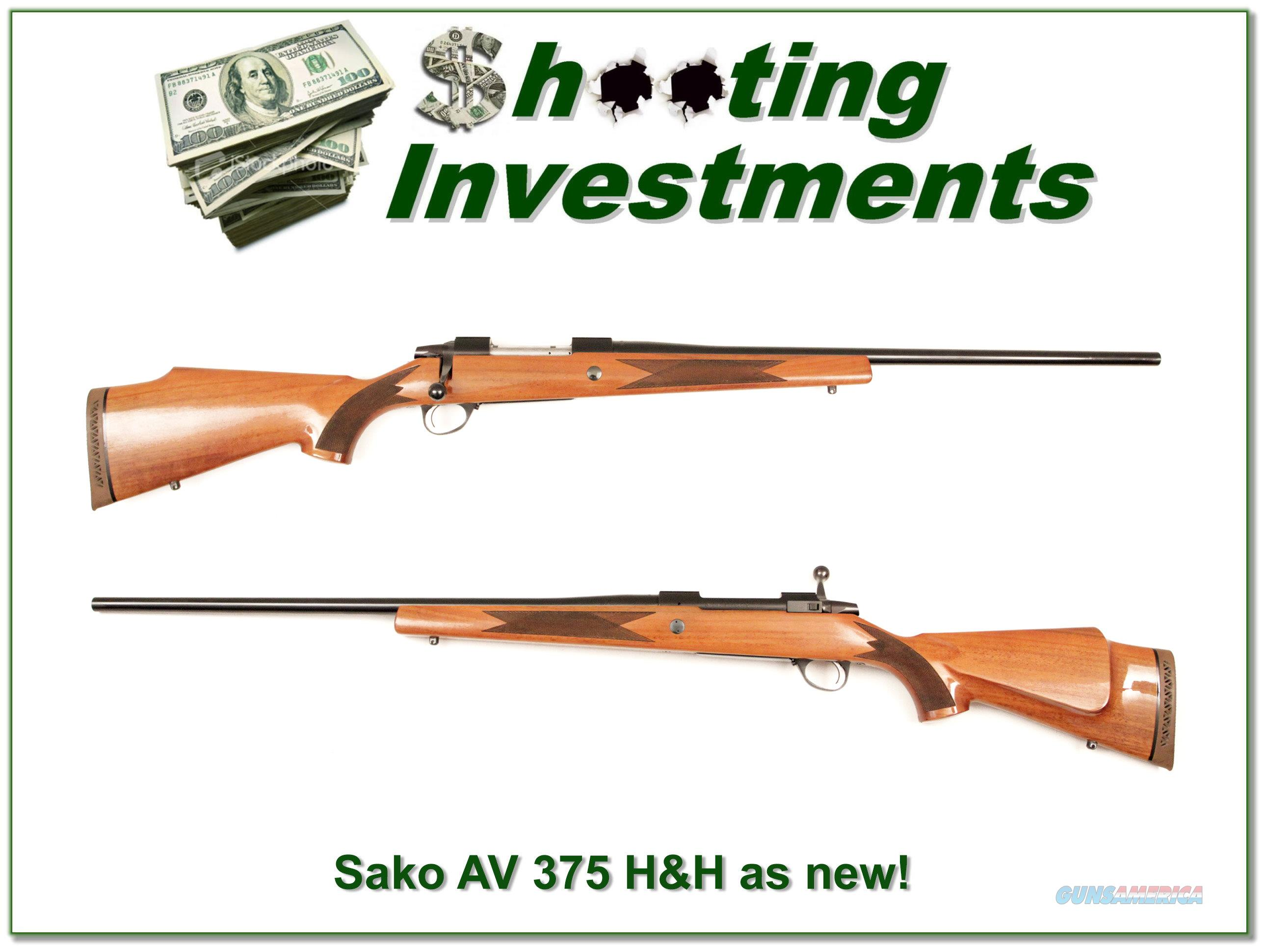 Sako AV Finnbear 375 H&H as new!  Guns > Rifles > Sako Rifles > Other Bolt Action