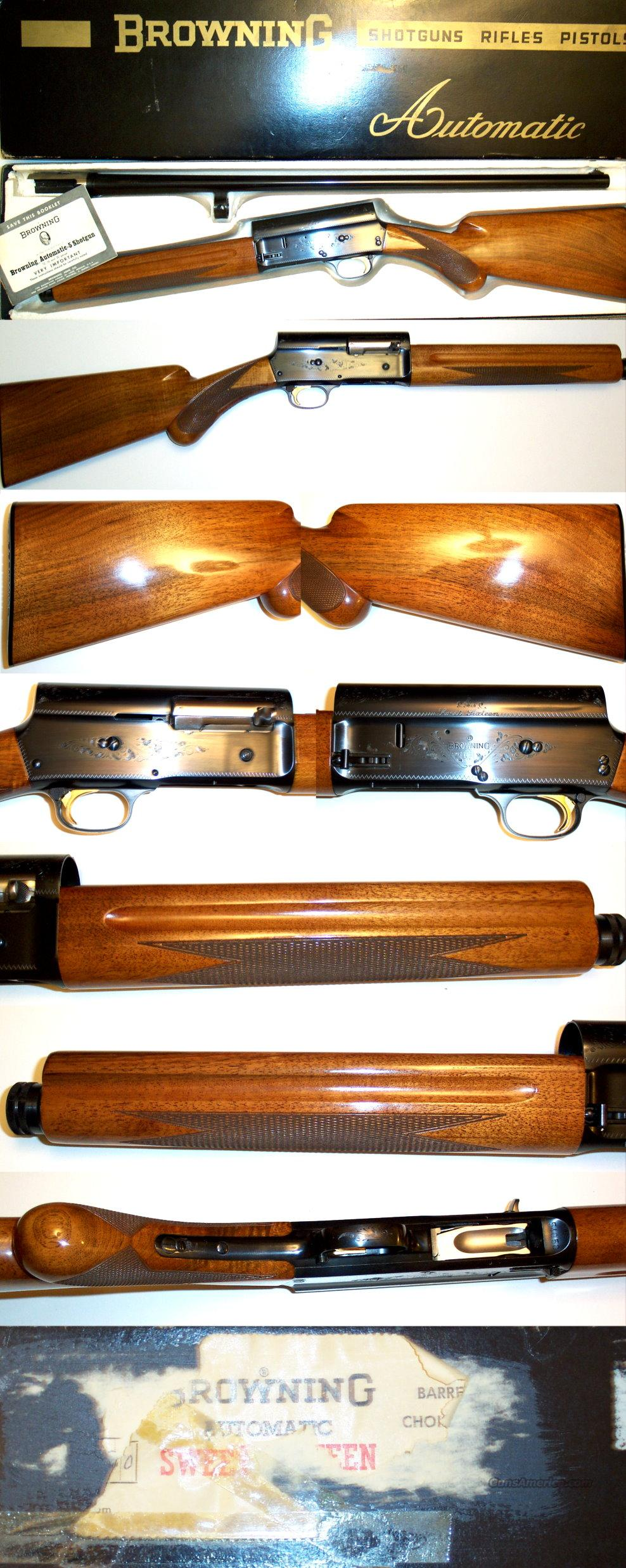 '66 Belgium Browning A5 Sweet Sixteen NIB  Guns > Shotguns > Browning Shotguns > Autoloaders > Hunting