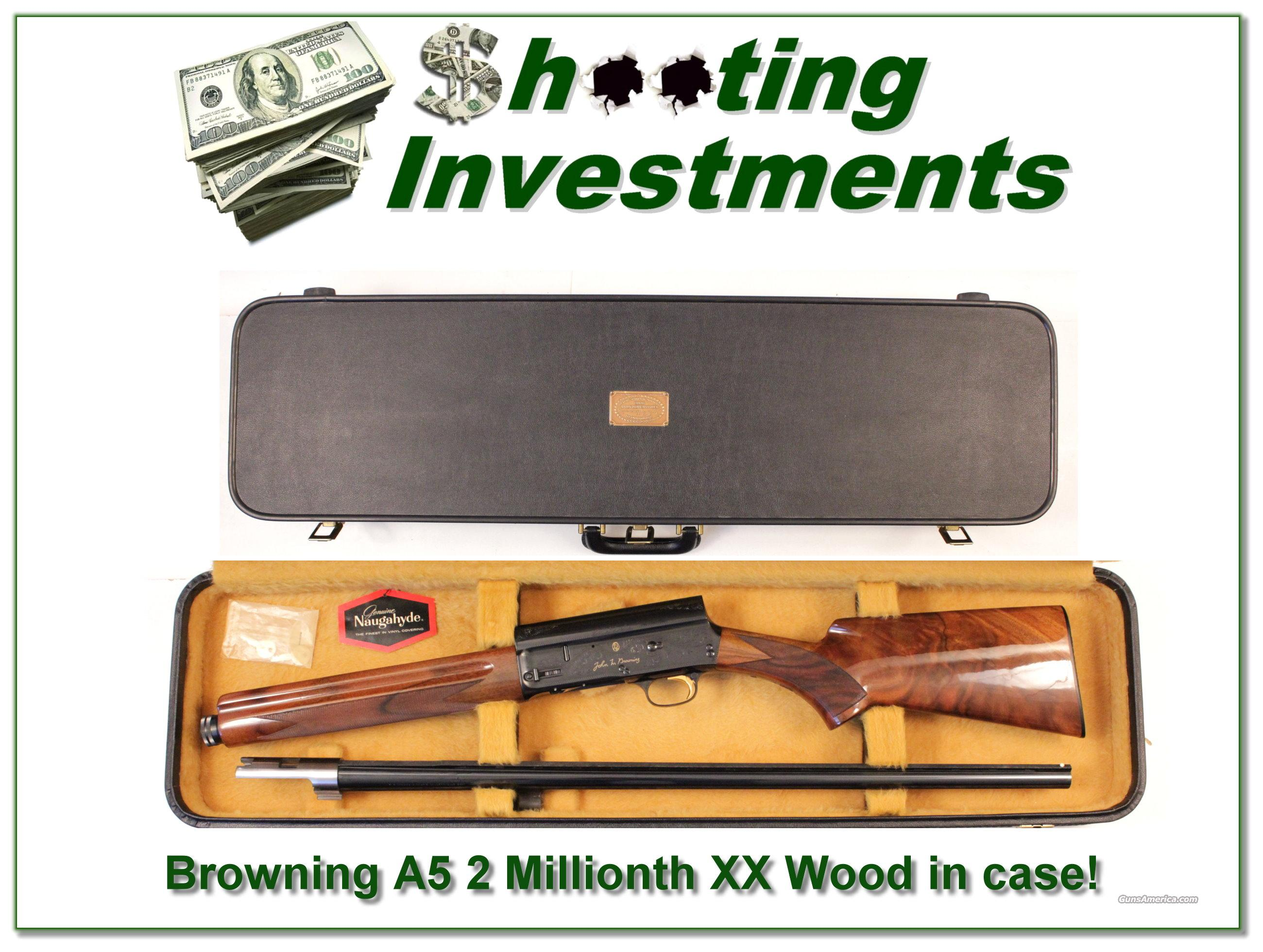 Browning A5 Light 12 Belgium 2 Millionth!  Guns > Shotguns > Browning Shotguns > Autoloaders > Hunting