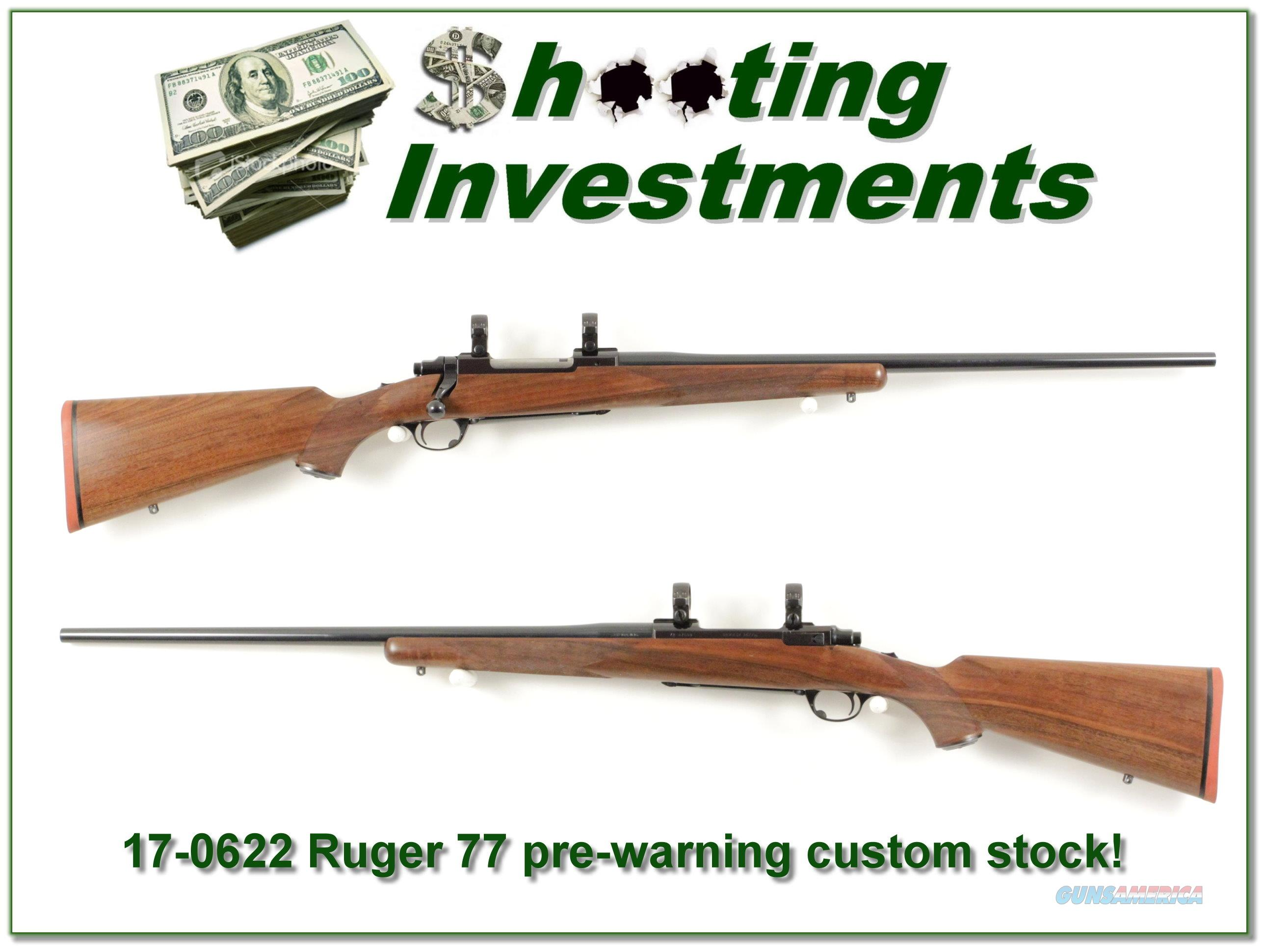 Ruger 77 Red Pad pre-warning Exc Cond!   Guns > Rifles > Ruger Rifles > Model 77