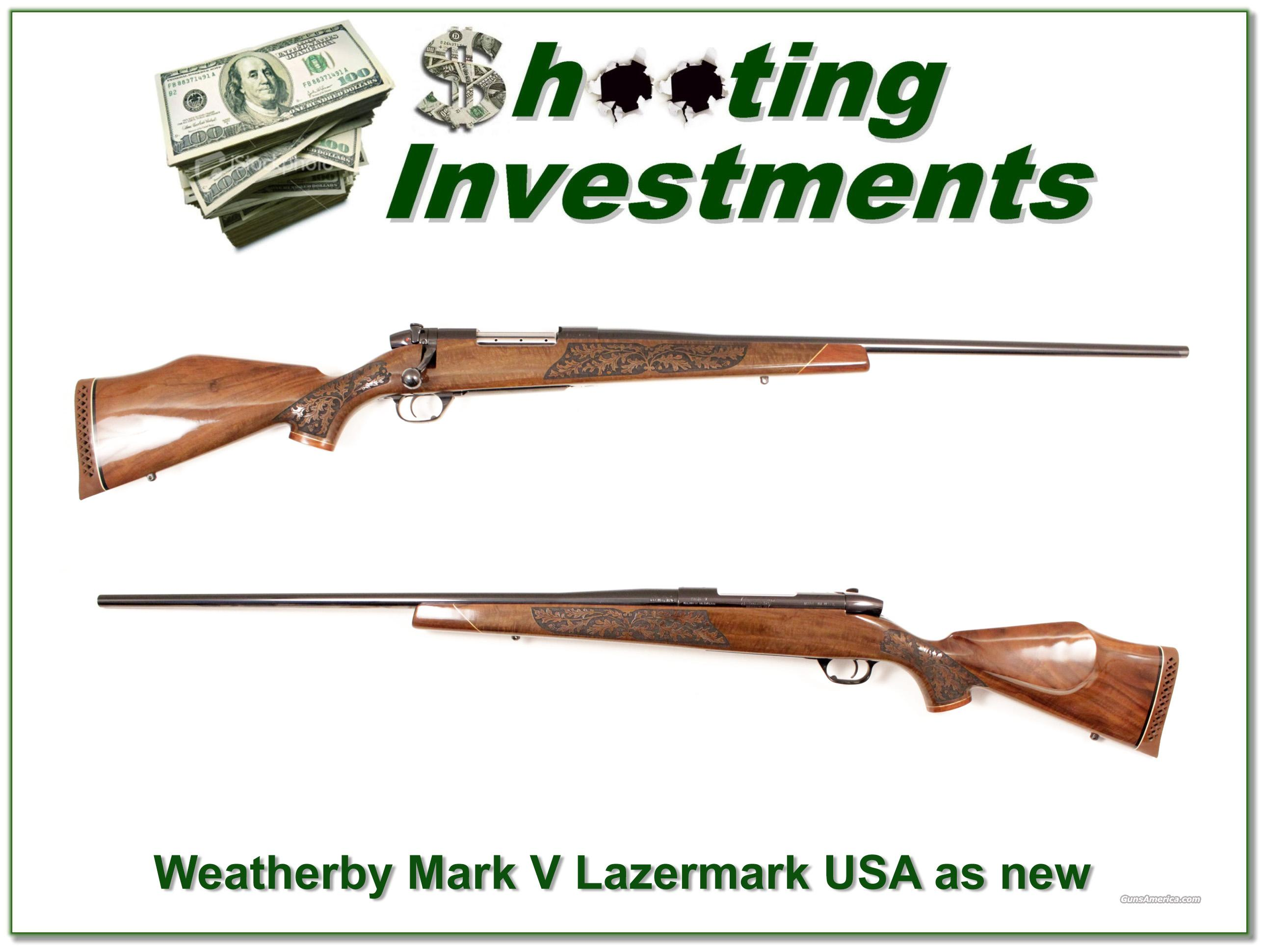 Weatherby Mark V Lazermark 300 as new  Guns > Rifles > Weatherby Rifles > Sporting