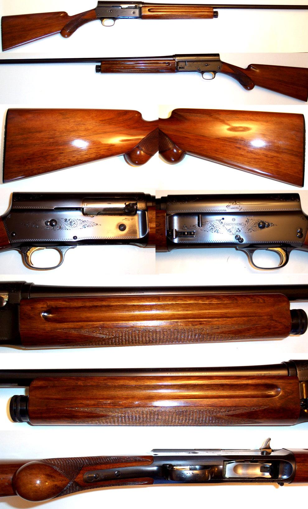 '61 Belgium Browning A5 20 gauge in excellent cond  Guns > Shotguns > Browning Shotguns > Autoloaders > Hunting