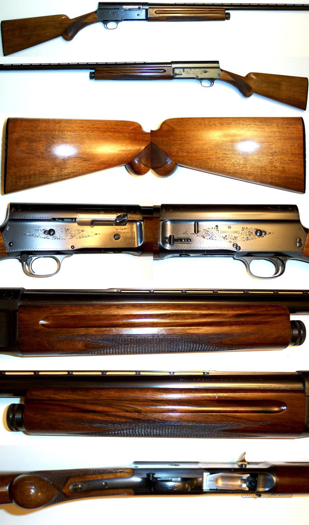 '59 Belgium Browning A5 12 gauge  Guns > Shotguns > Browning Shotguns > Autoloaders > Hunting
