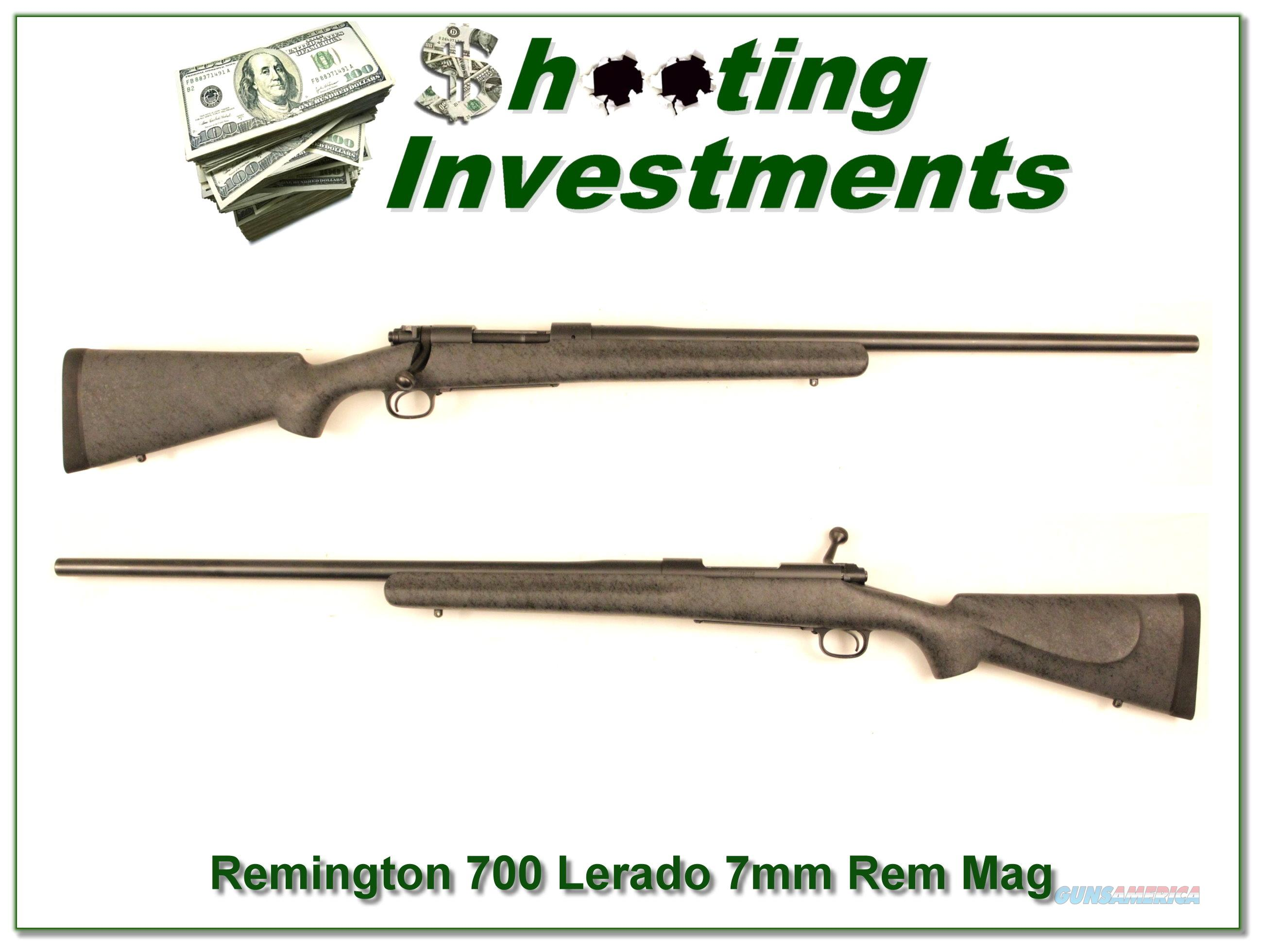 Winchester 70 Laredo 7mm Rem Mag Exc Cond!  Guns > Rifles > Remington Rifles - Modern > Model 700 > Sporting