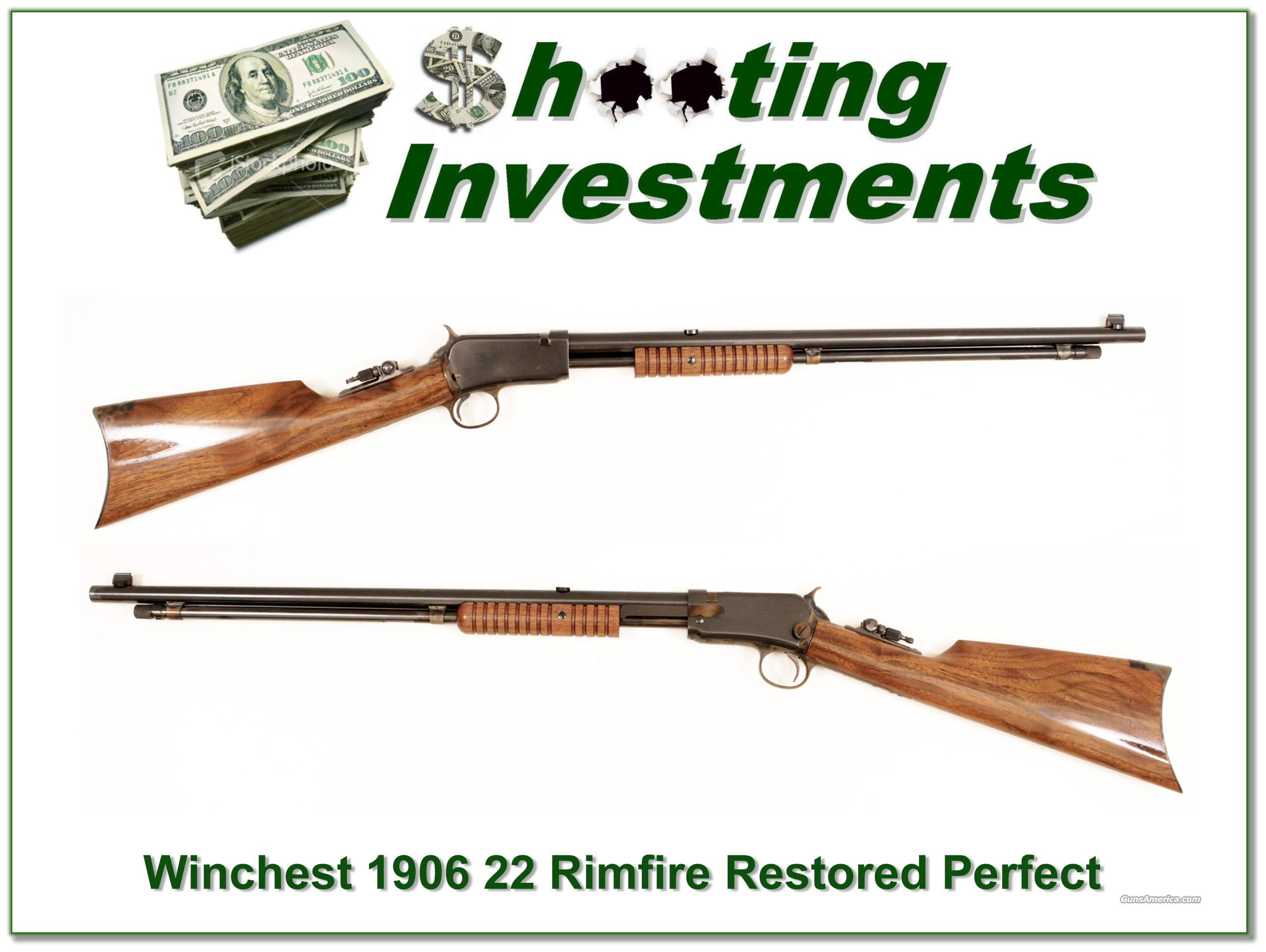 Winchester 1906 made in 1919 Immaculate!  Guns > Rifles > Winchester Rifles - Modern Pump