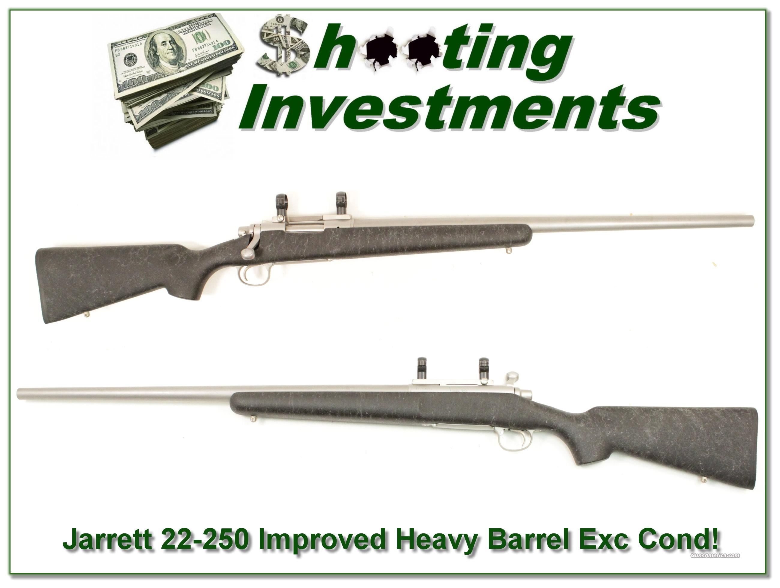 Jarrett 22-250 Improved Heavy Barrel on Remington 700  Guns > Rifles > Remington Rifles - Modern > Bolt Action Non-Model 700 > Sporting