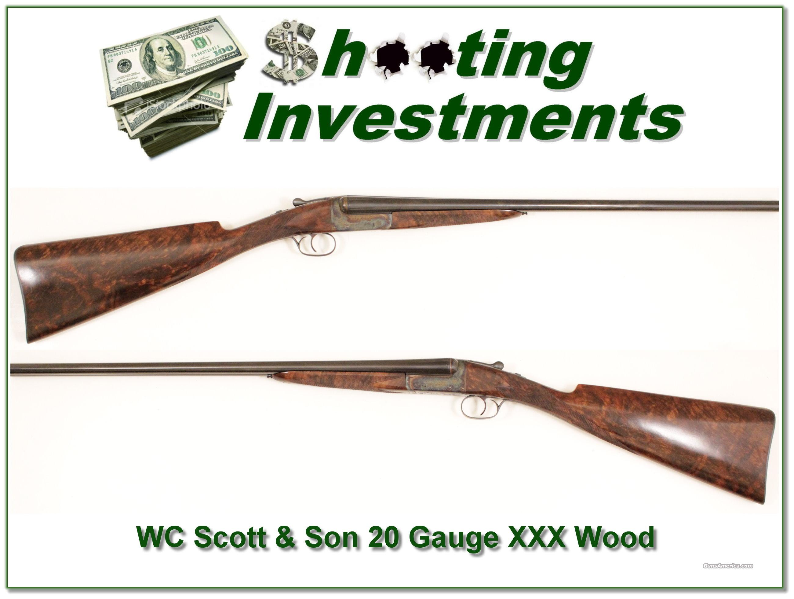 WC Scott & Sons Abercrombie & Fitch 20 Gauge!  Guns > Shotguns > W.C. Scott Shotguns