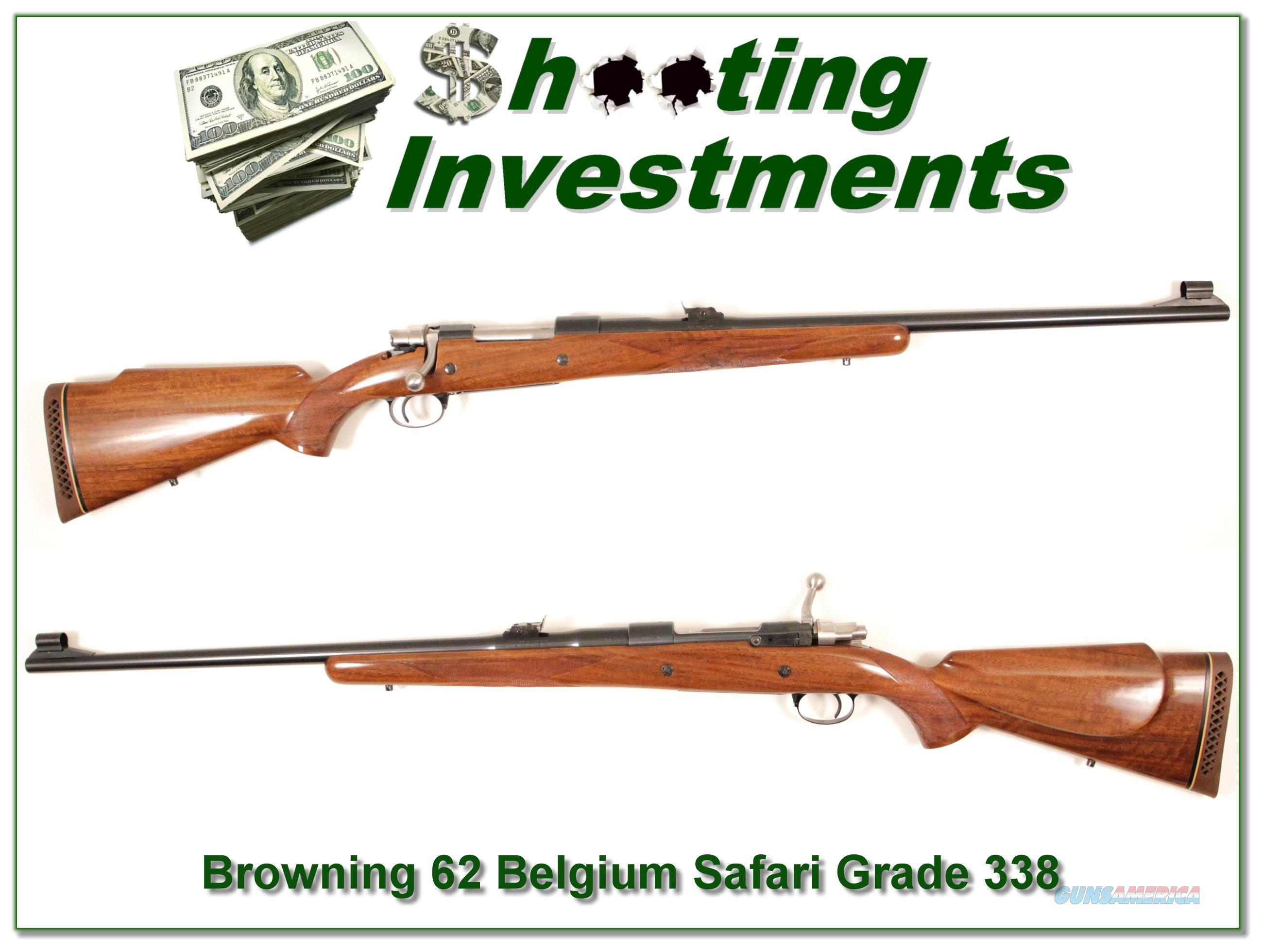 Browning early Belgium Safari Grade 338 Long Extractor mint!  Guns > Rifles > Browning Rifles > Bolt Action > Hunting > Stainless
