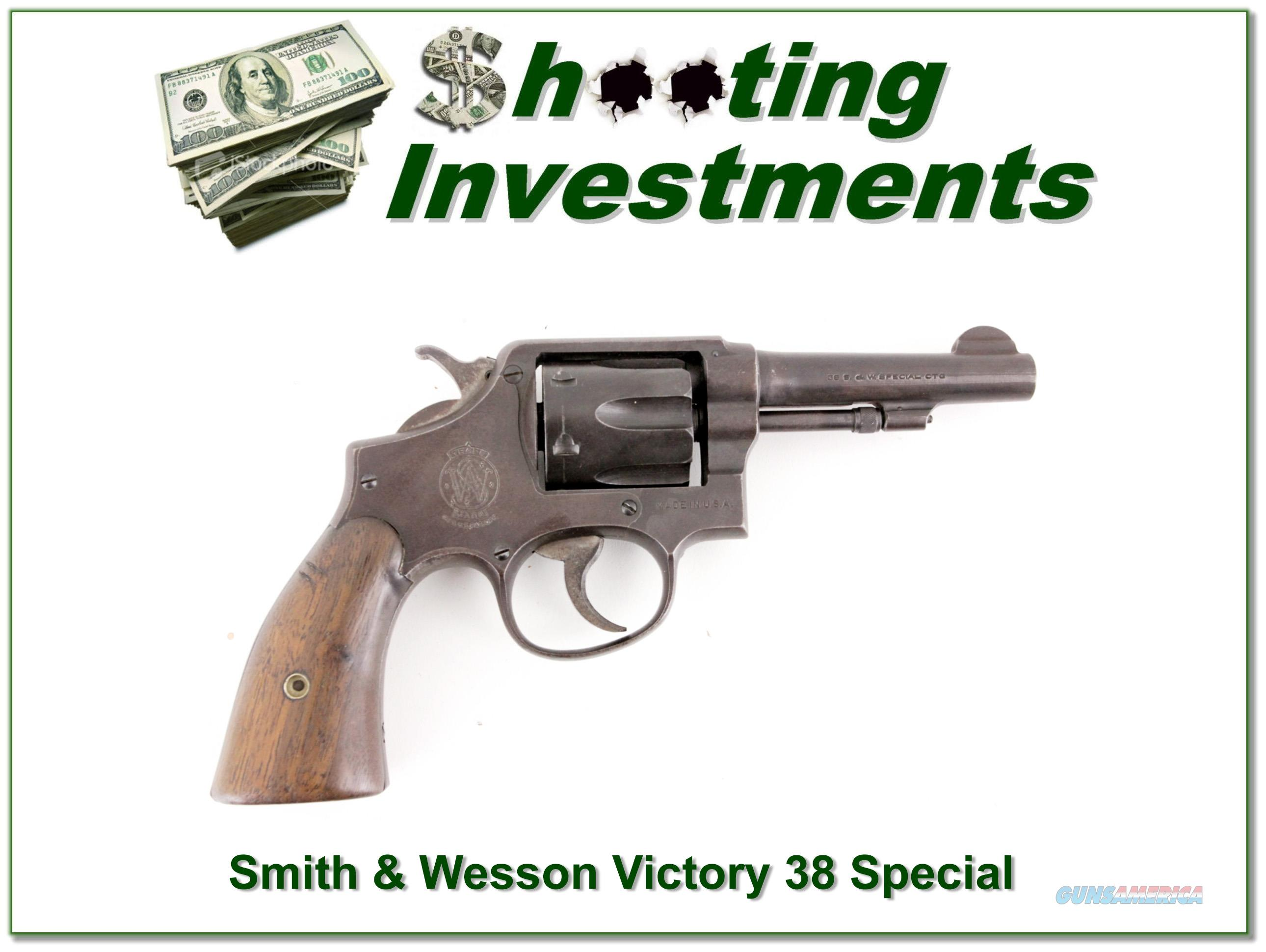 Smith & Wesson Victory 38 Special  Guns > Pistols > Smith & Wesson Revolvers > Full Frame Revolver