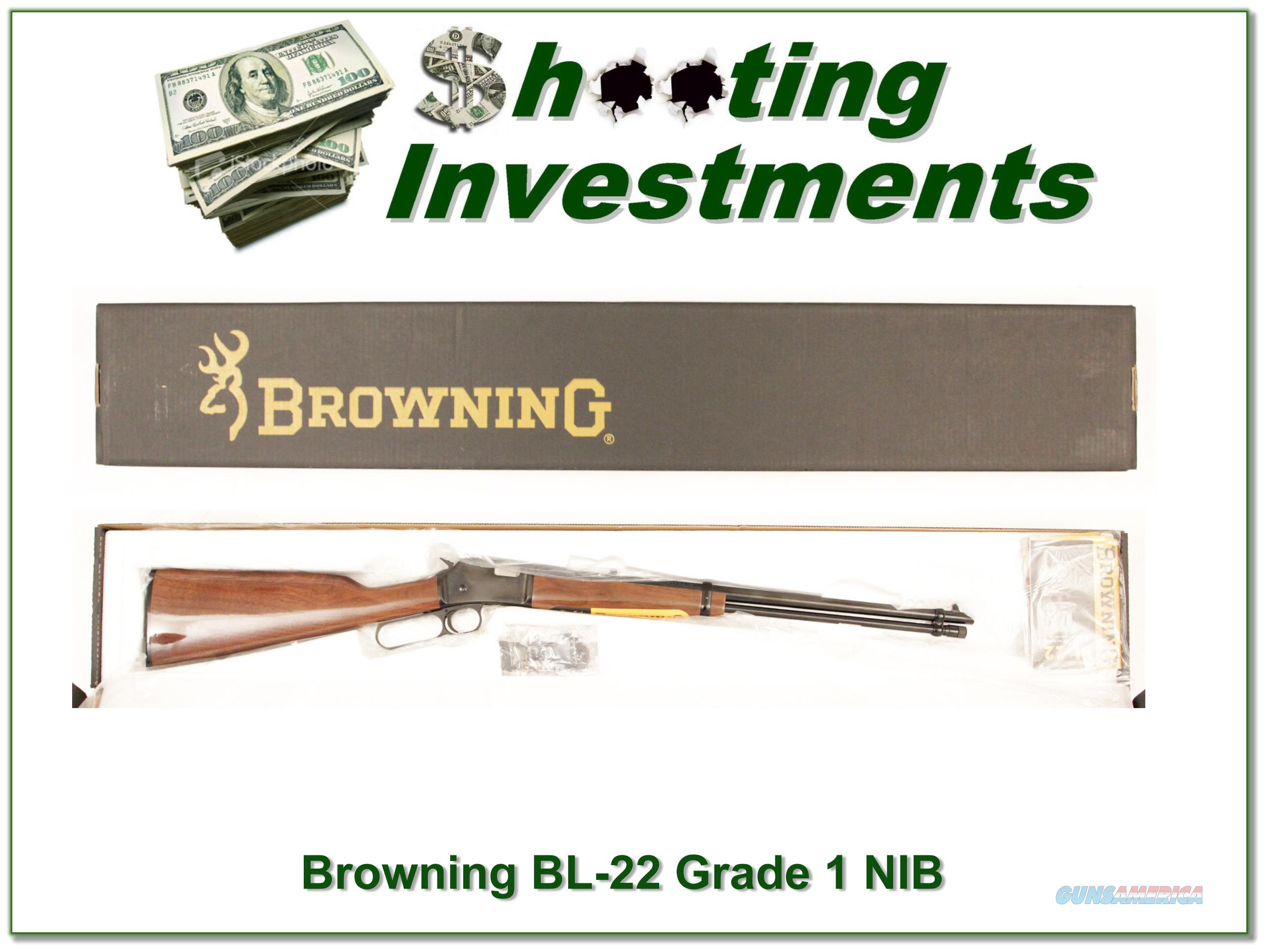Browning BL-22 New in Box!  Guns > Rifles > Browning Rifles > Lever Action