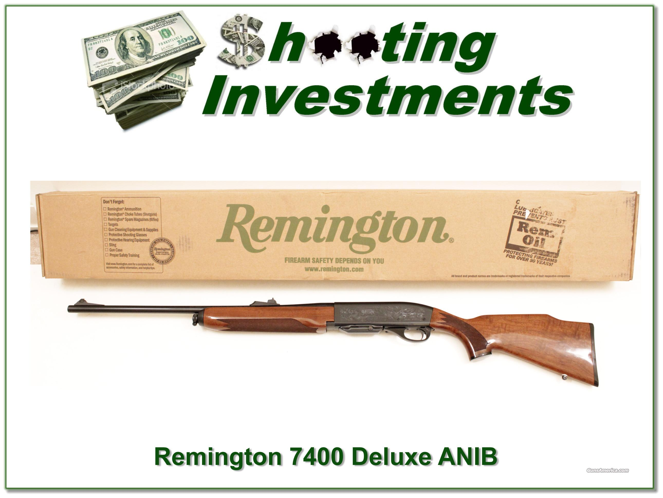 Remington 7400 Deluxe 30-06 NIB  Guns > Rifles > Remington Rifles - Modern > Other