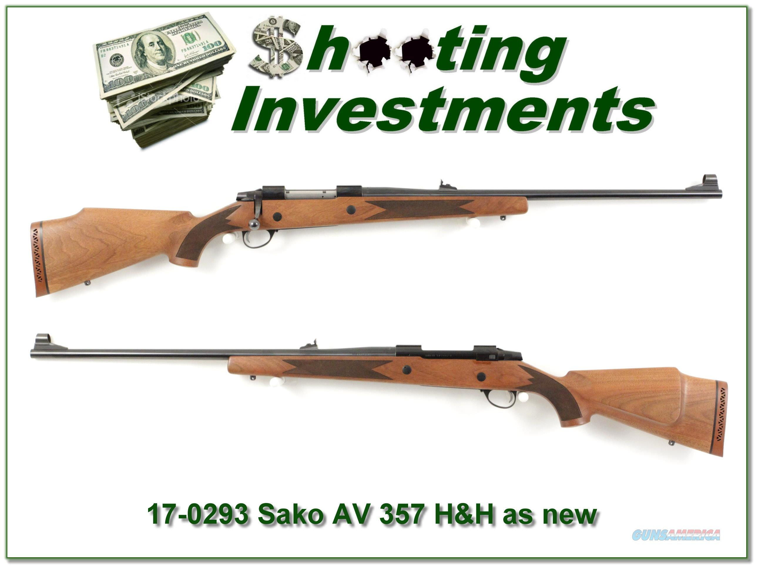 Sako AV 375 H&H Looks New!  Guns > Rifles > Sako Rifles > Other Bolt Action