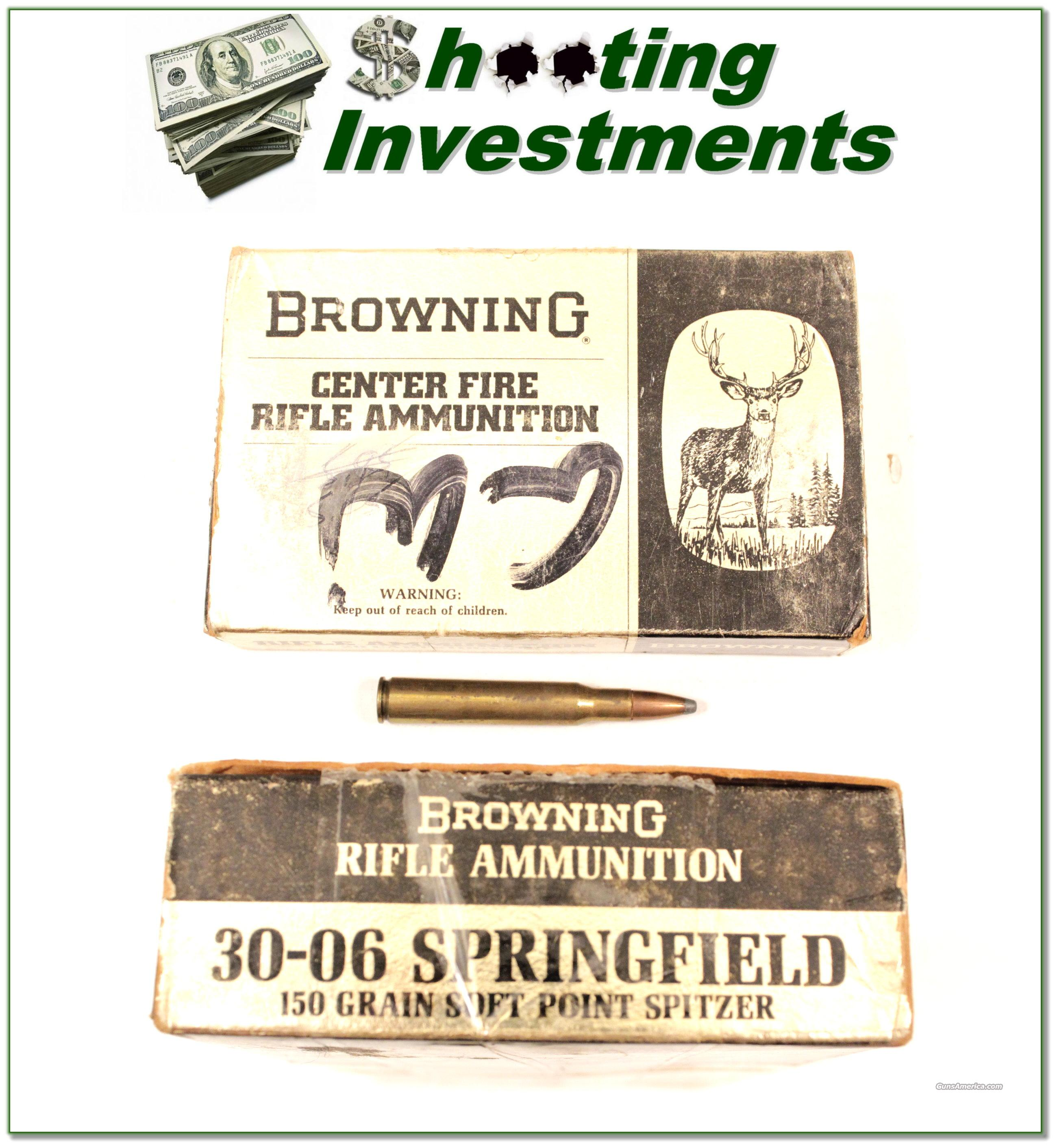 Browning factory 30-06 Ammo 150 Grain  Non-Guns > Ammunition