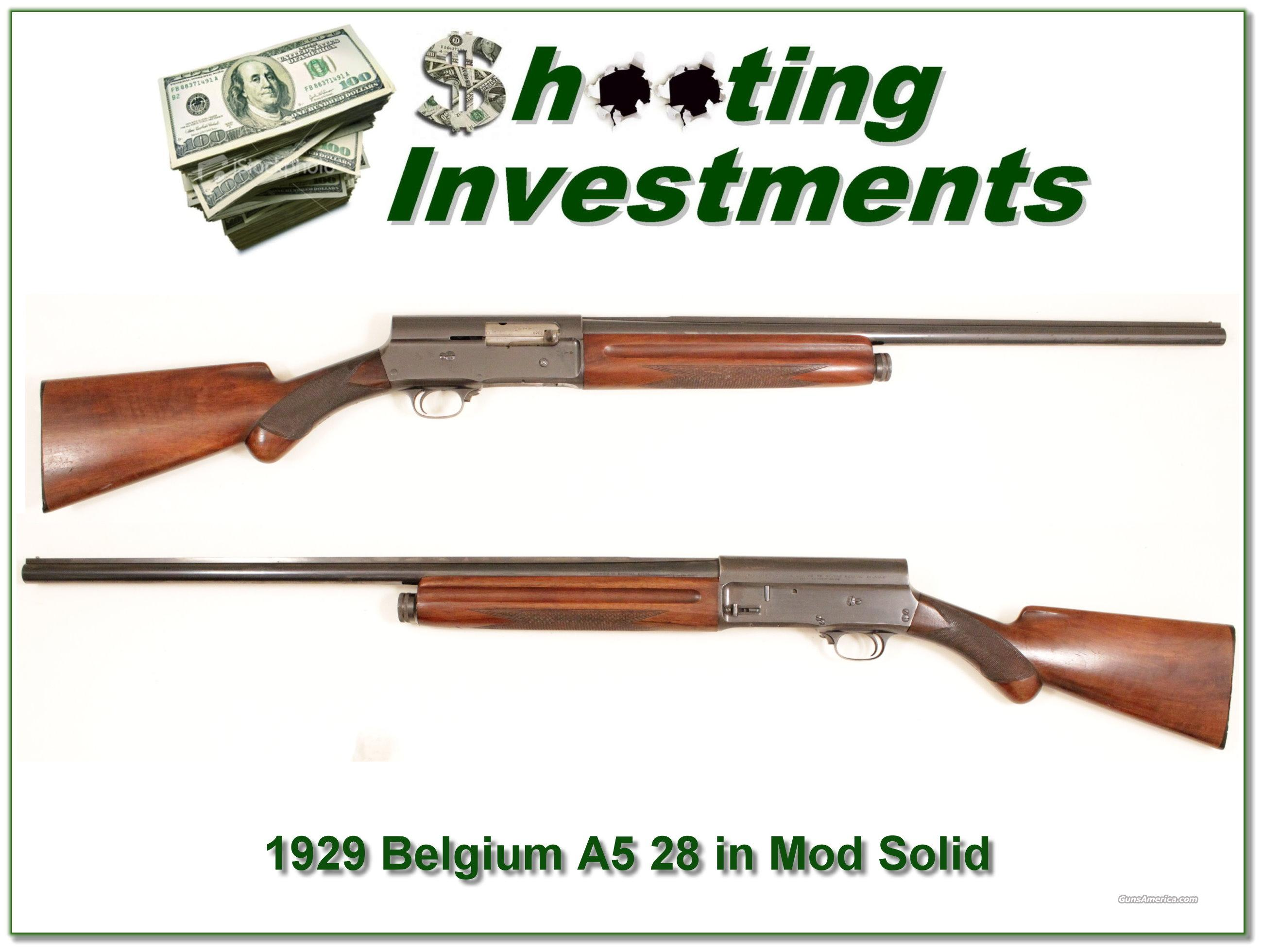 Browning A5 1926 Pre-War Ogden Utah 12 Gauge  Guns > Shotguns > Browning Shotguns > Autoloaders > Hunting