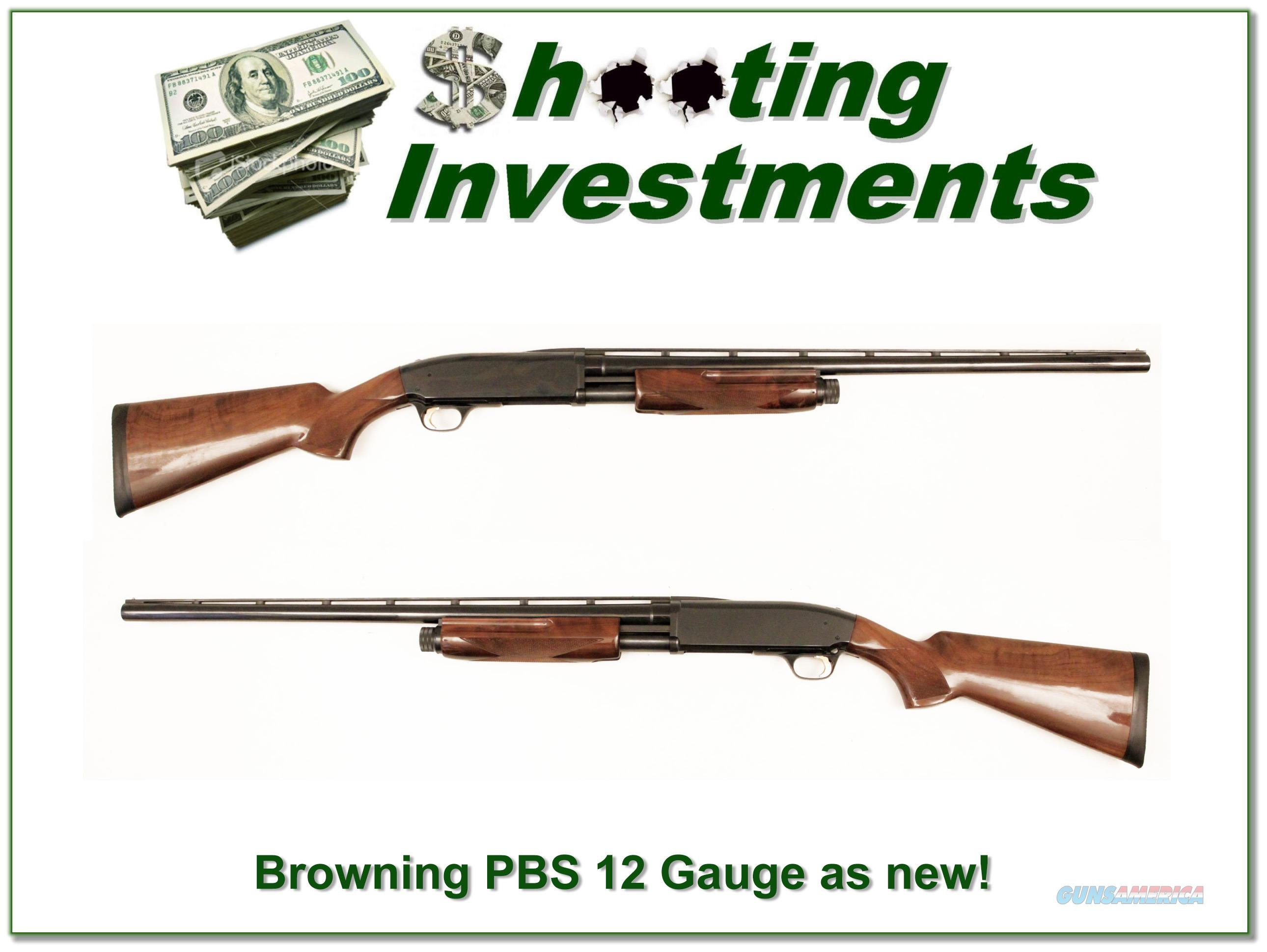 Browning BPS 12 Gauge 26in VR as new, unfired!  Guns > Shotguns > Browning Shotguns > Autoloaders > Hunting
