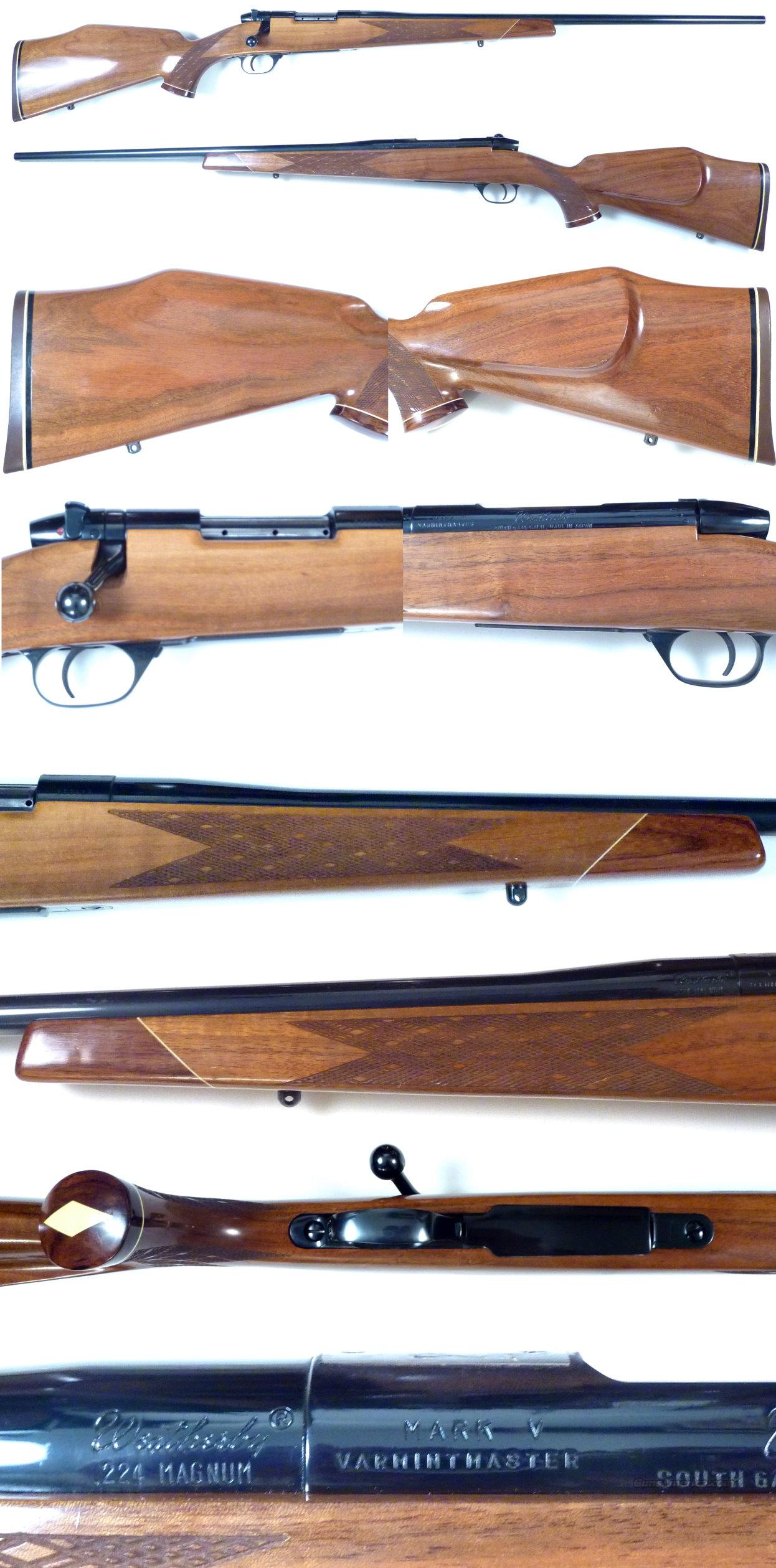 Weatherby Varmentmaster 224 exc cond!  Guns > Rifles > Weatherby Rifles > Sporting