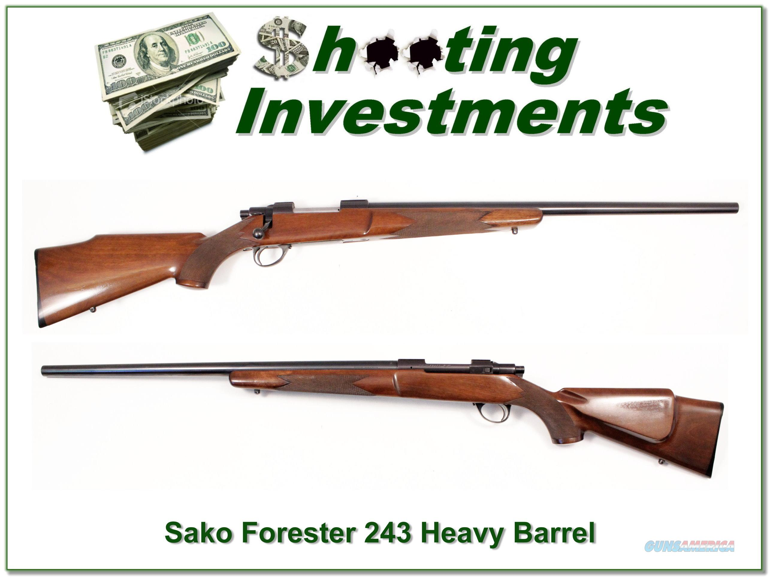 Sako Forester 243 hard to find Heavy Barrel Exc Cond  Guns > Rifles > Sako Rifles > Other Bolt Action