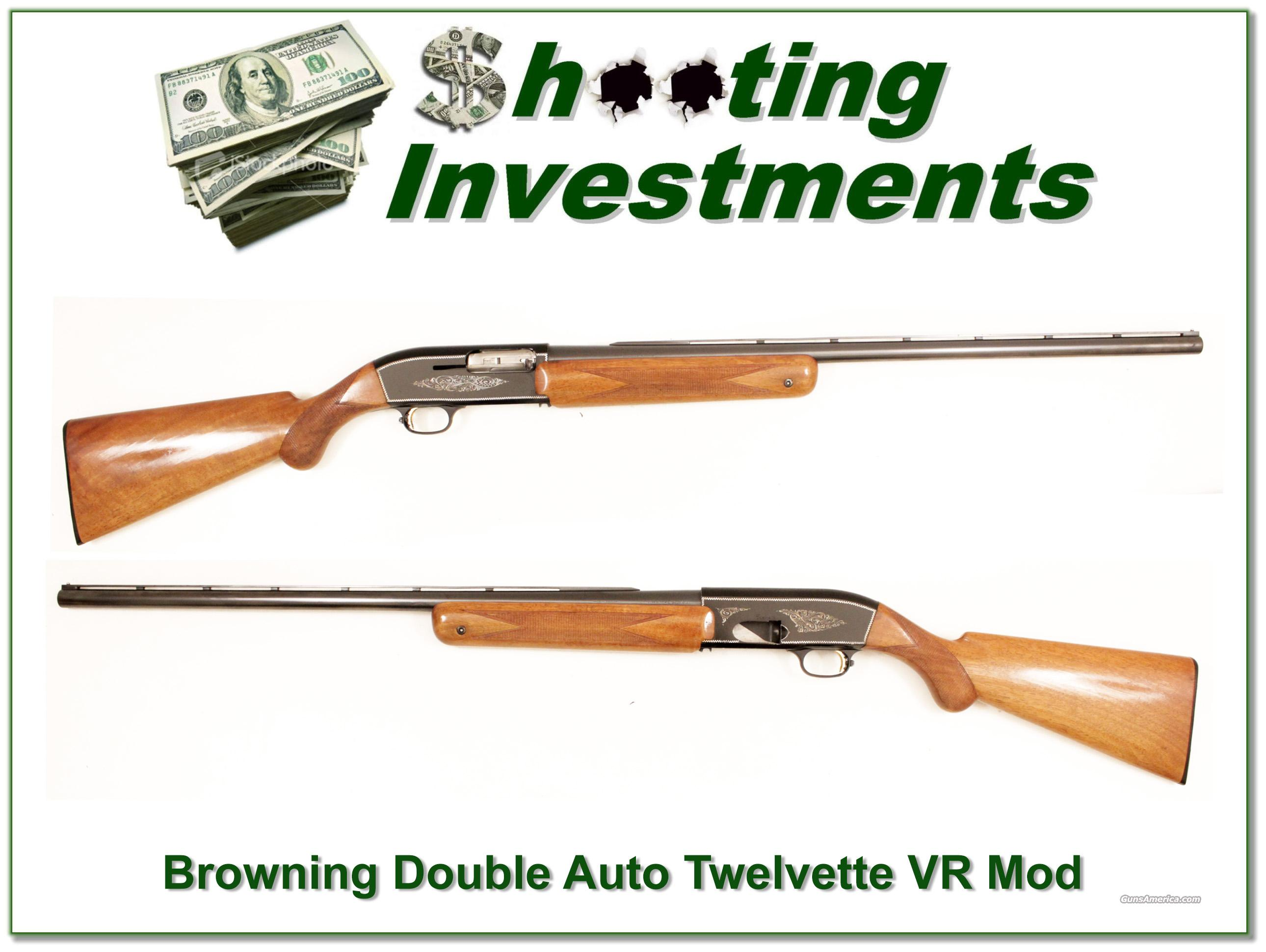 Browning Twelvette '65 Belgium Double Auto Blond Wood  Guns > Shotguns > Browning Shotguns > Autoloaders > Hunting
