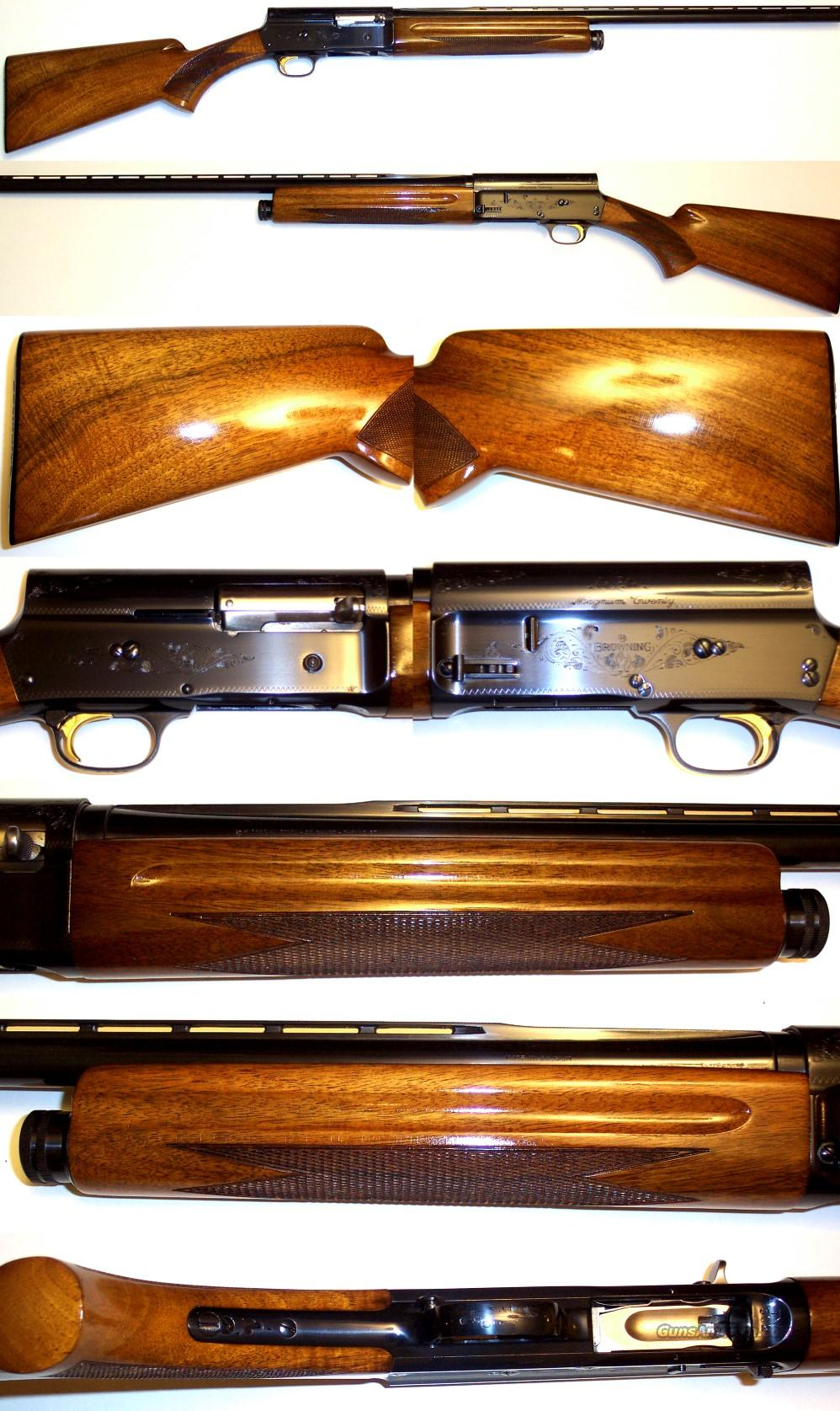 '67 Belgium A5 Browning MAG 20 mint condition  Guns > Shotguns > Browning Shotguns > Autoloaders > Hunting