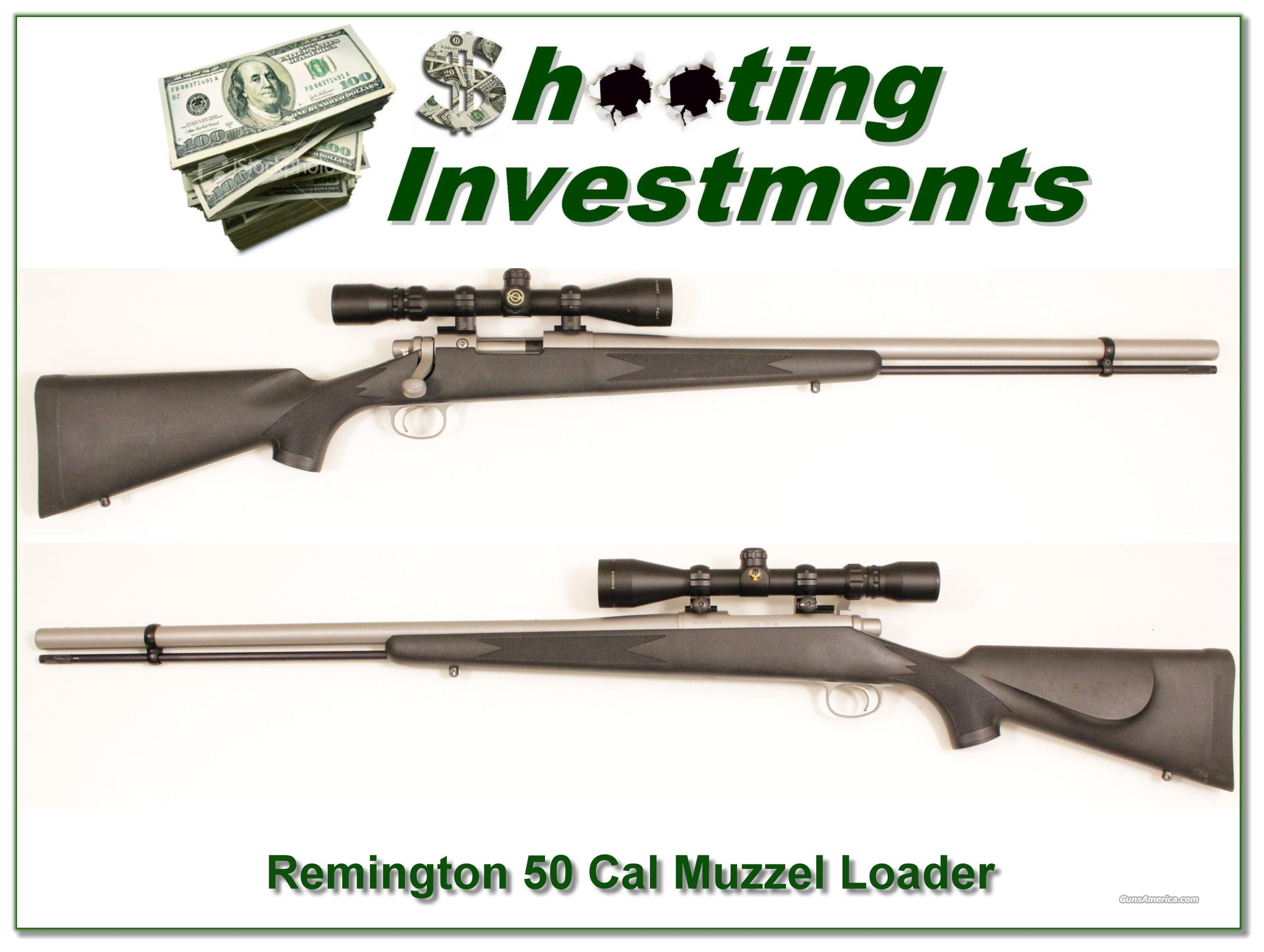 Remington 700ML 50 caliberMuzzel Loader  Guns > Rifles > Remington Rifles - Modern > Model 700 > Sporting