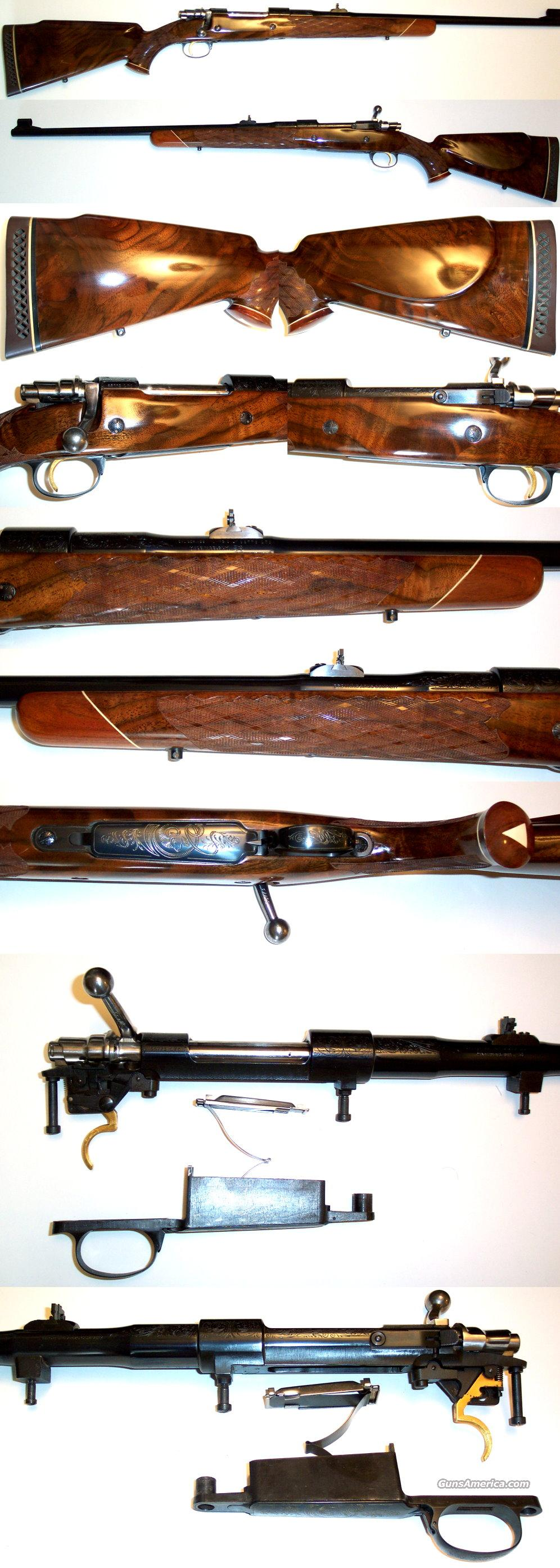 1970 Belgium Browning Medallion Grade 458  Guns > Rifles > Browning Rifles > Bolt Action > Hunting > Blue