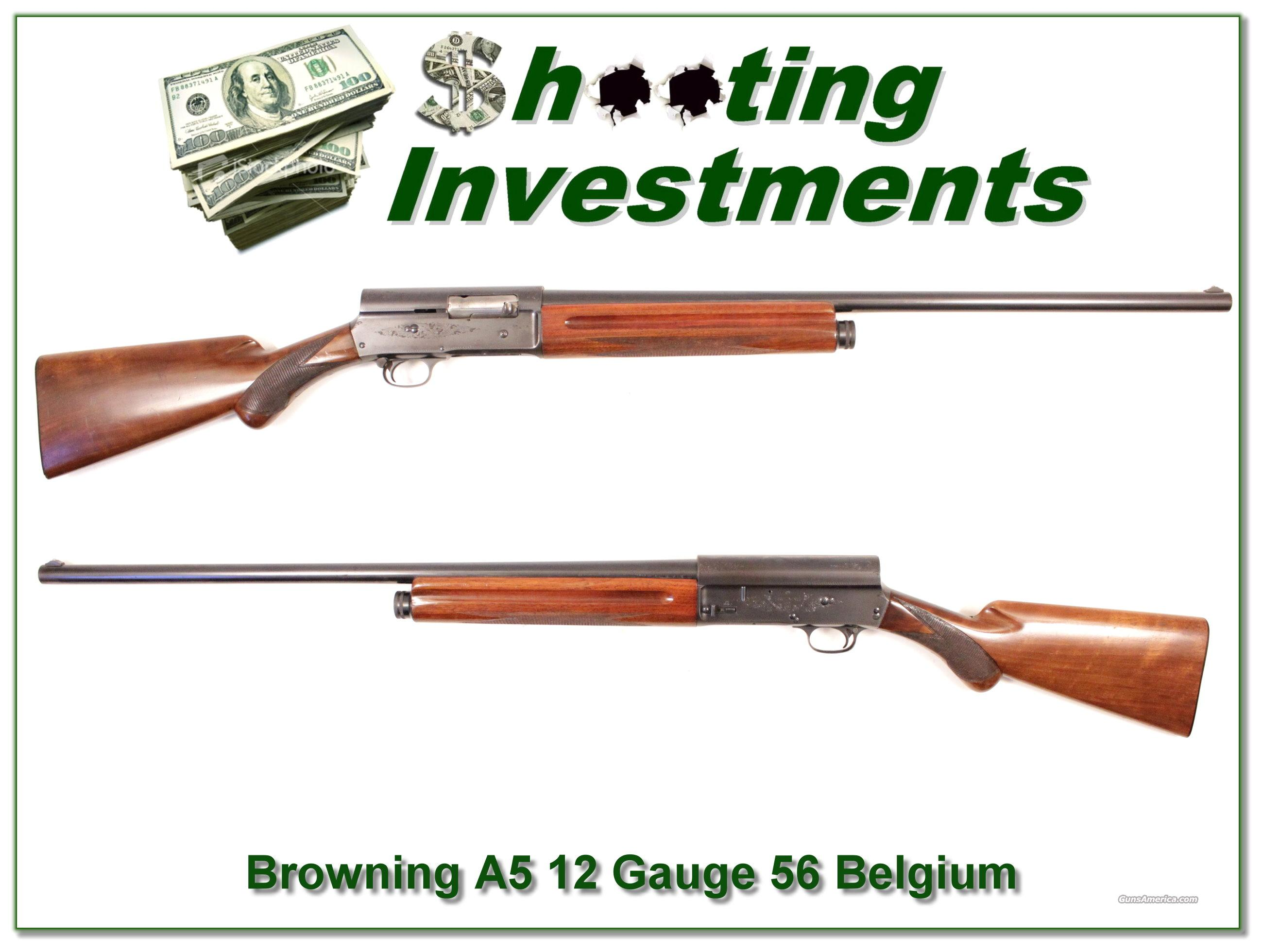 Browning A5 12 Gauge 56 Belgium 28in Modified  Guns > Shotguns > Browning Shotguns > Autoloaders > Hunting