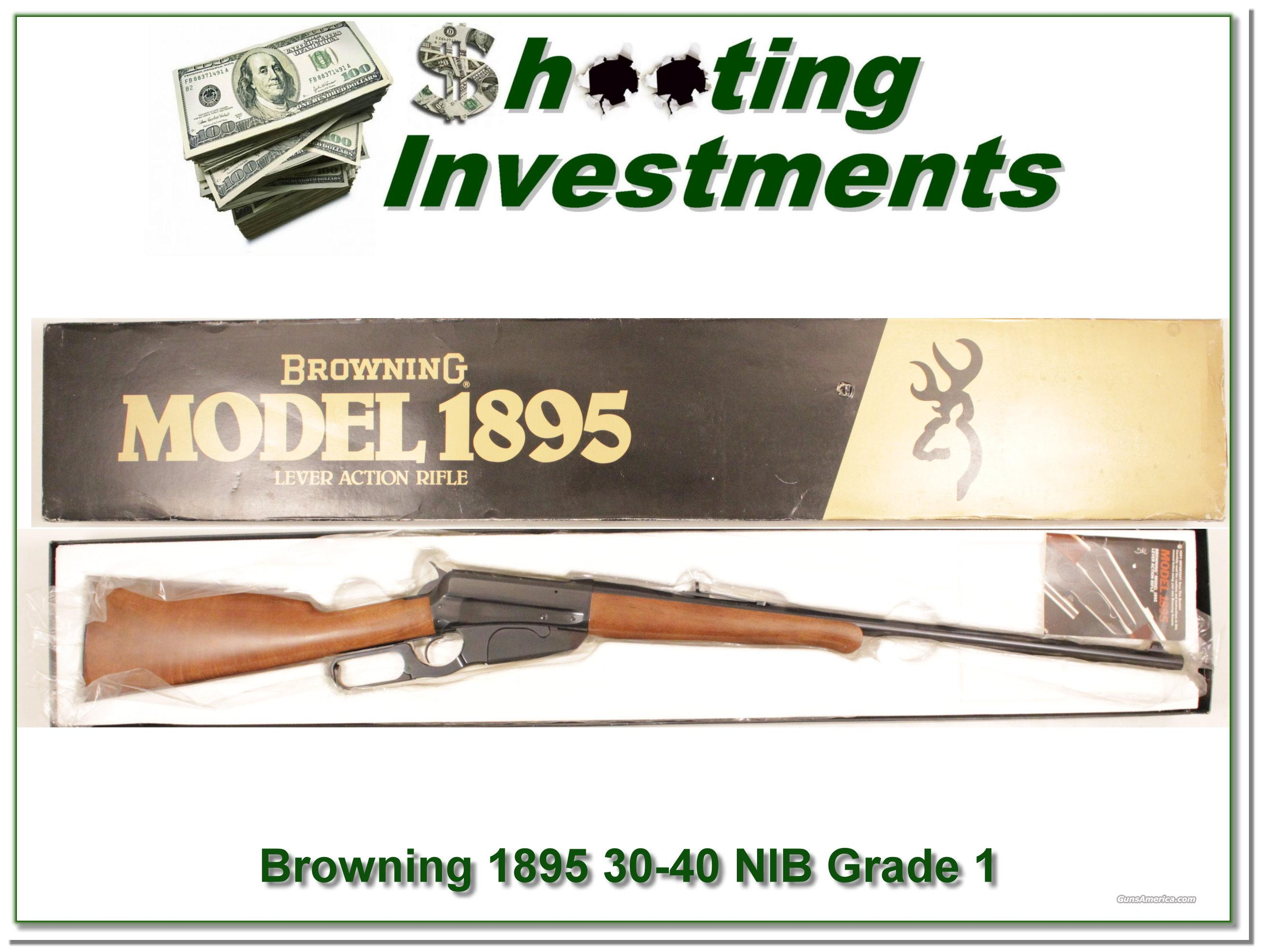 Browning 1895 30-40 Krag Unfired in box!  Guns > Rifles > Browning Rifles > Lever Action