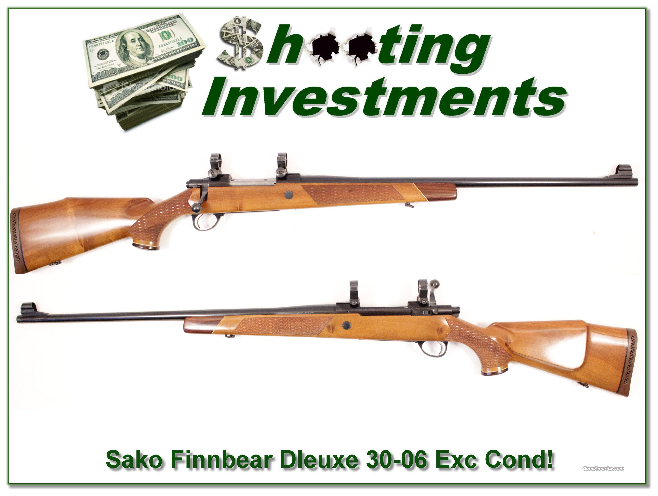 Sako Finnbear Deluxe L61R 30-06 Exc Cond!  Guns > Rifles > Sako Rifles > Other Bolt Action