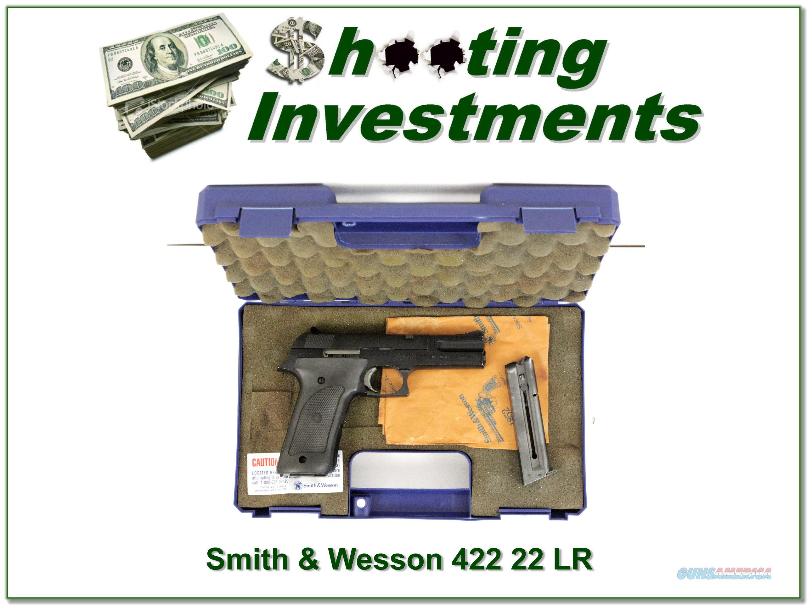 Smith & Wesson Model 422 harder to find 4in  Guns > Pistols > Smith & Wesson Pistols - Autos > .22 Autos
