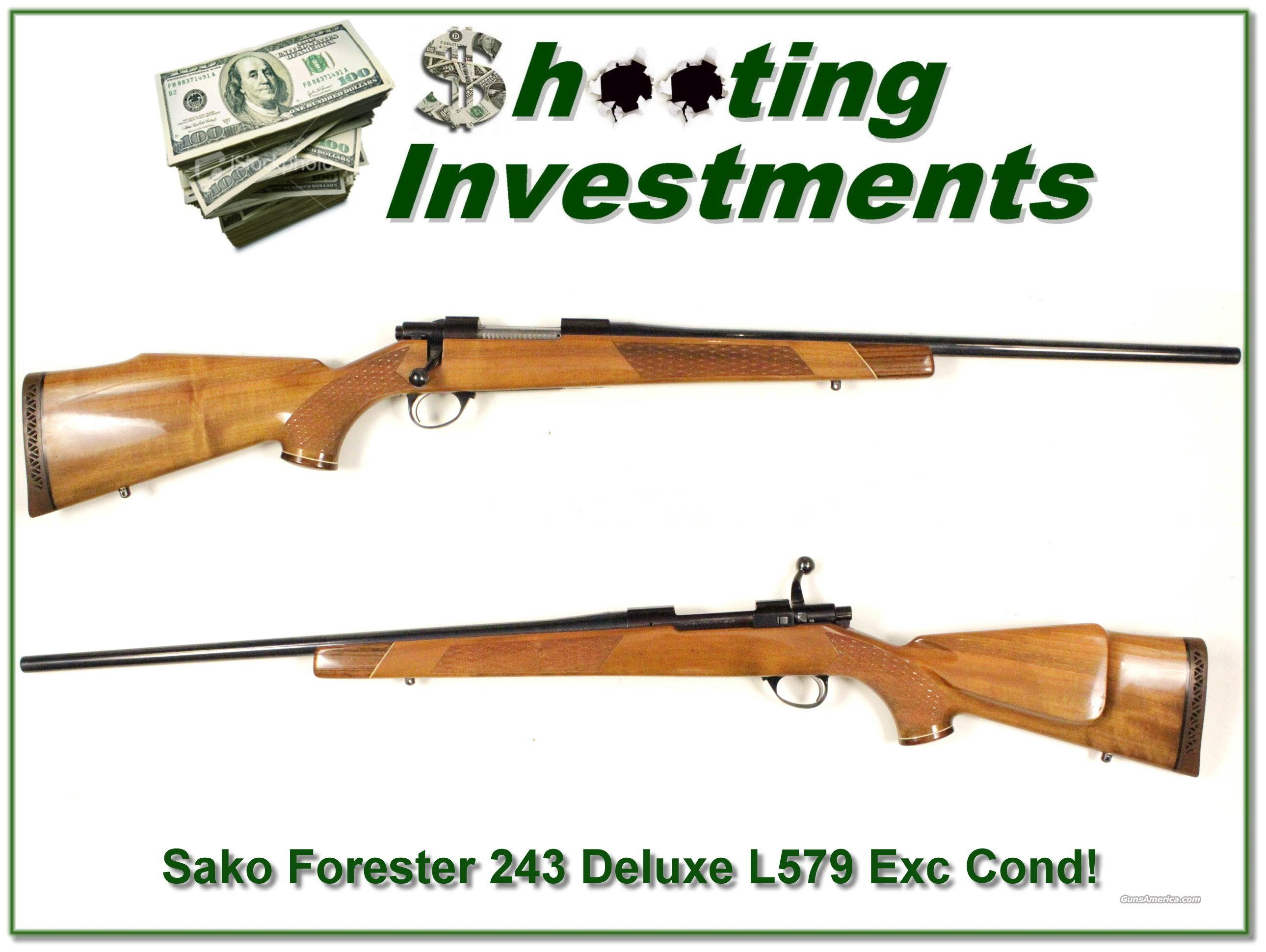 Sako Forester 243 Deluxe L579 Exc Cond!  Guns > Rifles > Sako Rifles > Other Bolt Action