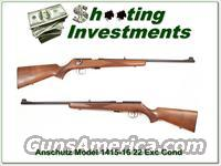 Anschutz Model 1415-16 22 German made Exc Cond!  Guns > Rifles > Anschutz Rifles