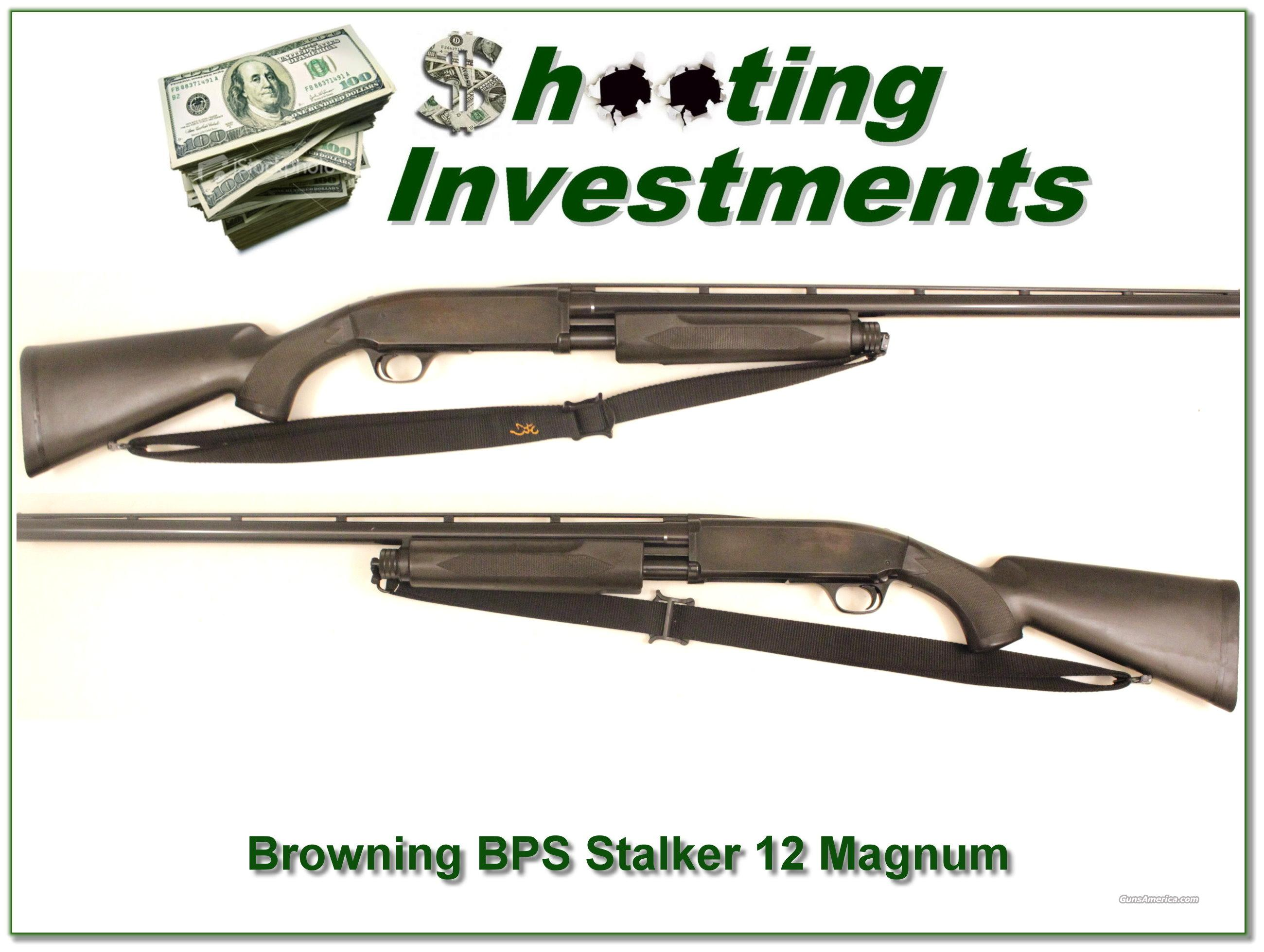 "Browning BPS Stalker 3"" 12 guage  Guns > Shotguns > Browning Shotguns > Pump Action > Hunting"