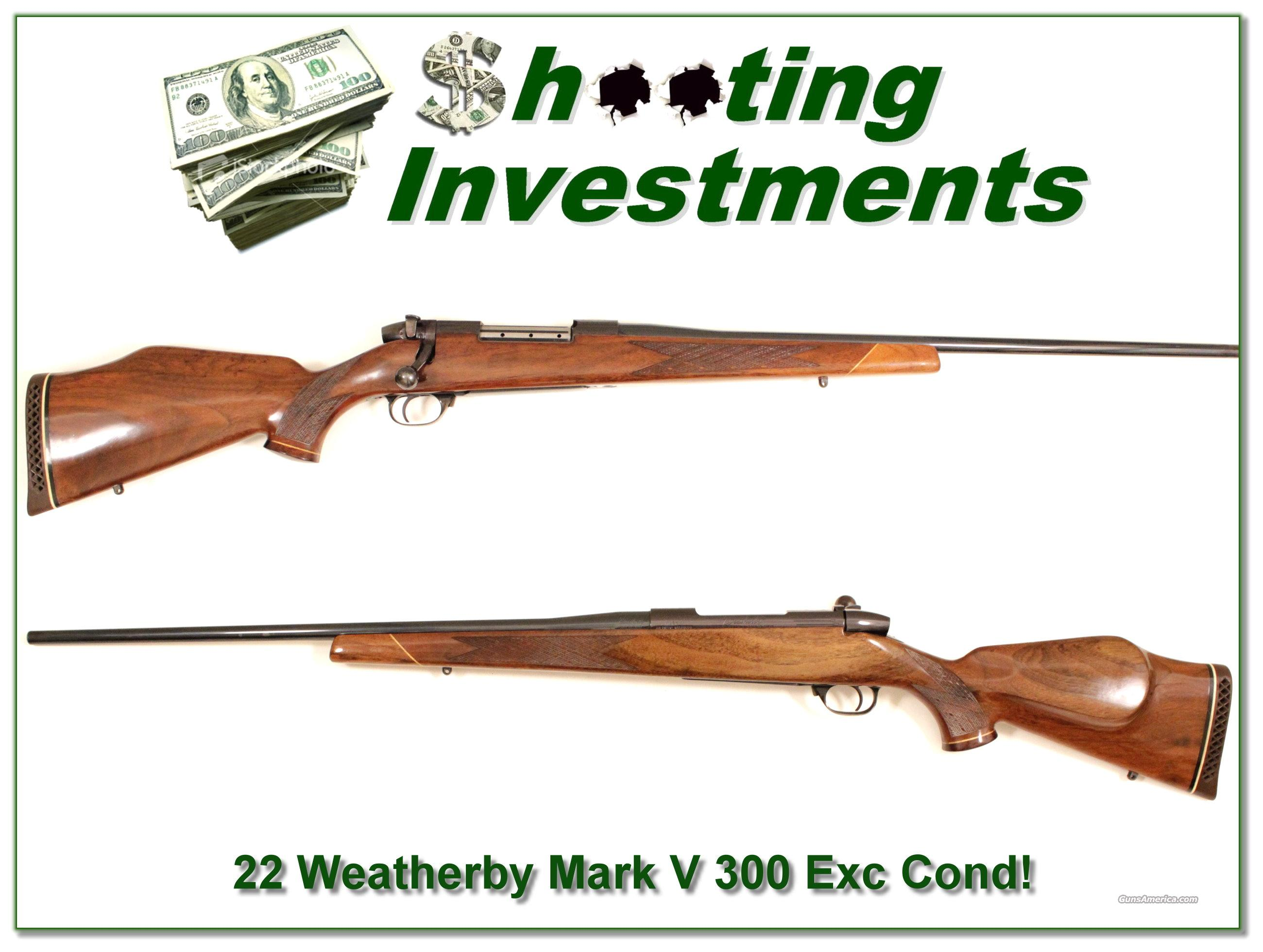 Weatherby Mark V Deluxe in 300 Wthy Mag  Guns > Rifles > Weatherby Rifles > Sporting