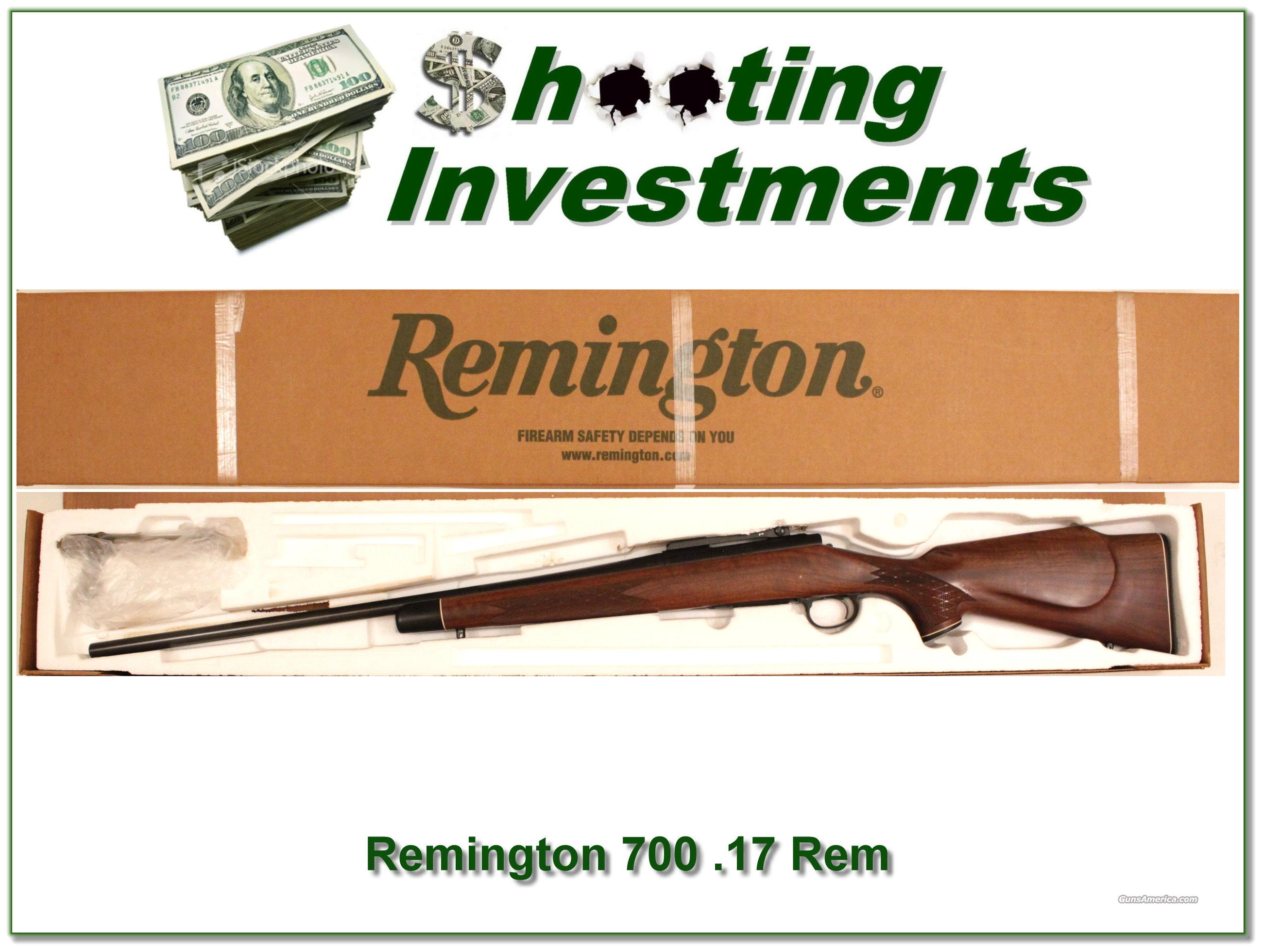 Remington BDL 17 .17 Remington as new  Guns > Rifles > Remington Rifles - Modern > Other