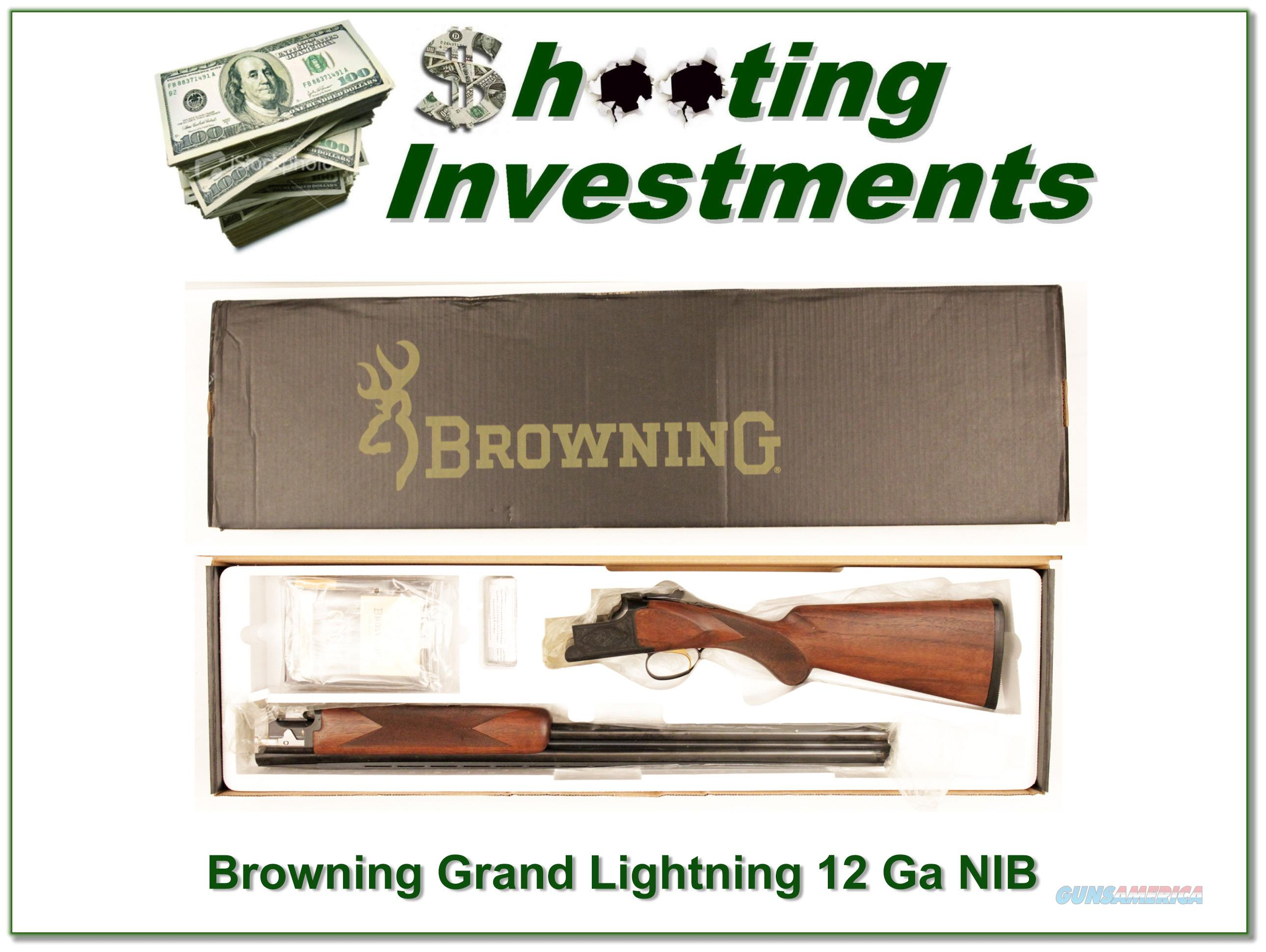 Citori Gran Lightning 12 Gauge 28in NIB!  Guns > Shotguns > Browning Shotguns > Over Unders > Citori > Hunting
