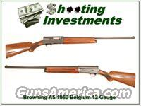 Browning A5 12 gauge 1960 Belgium  Guns > Shotguns > Browning Shotguns > Autoloaders > Hunting